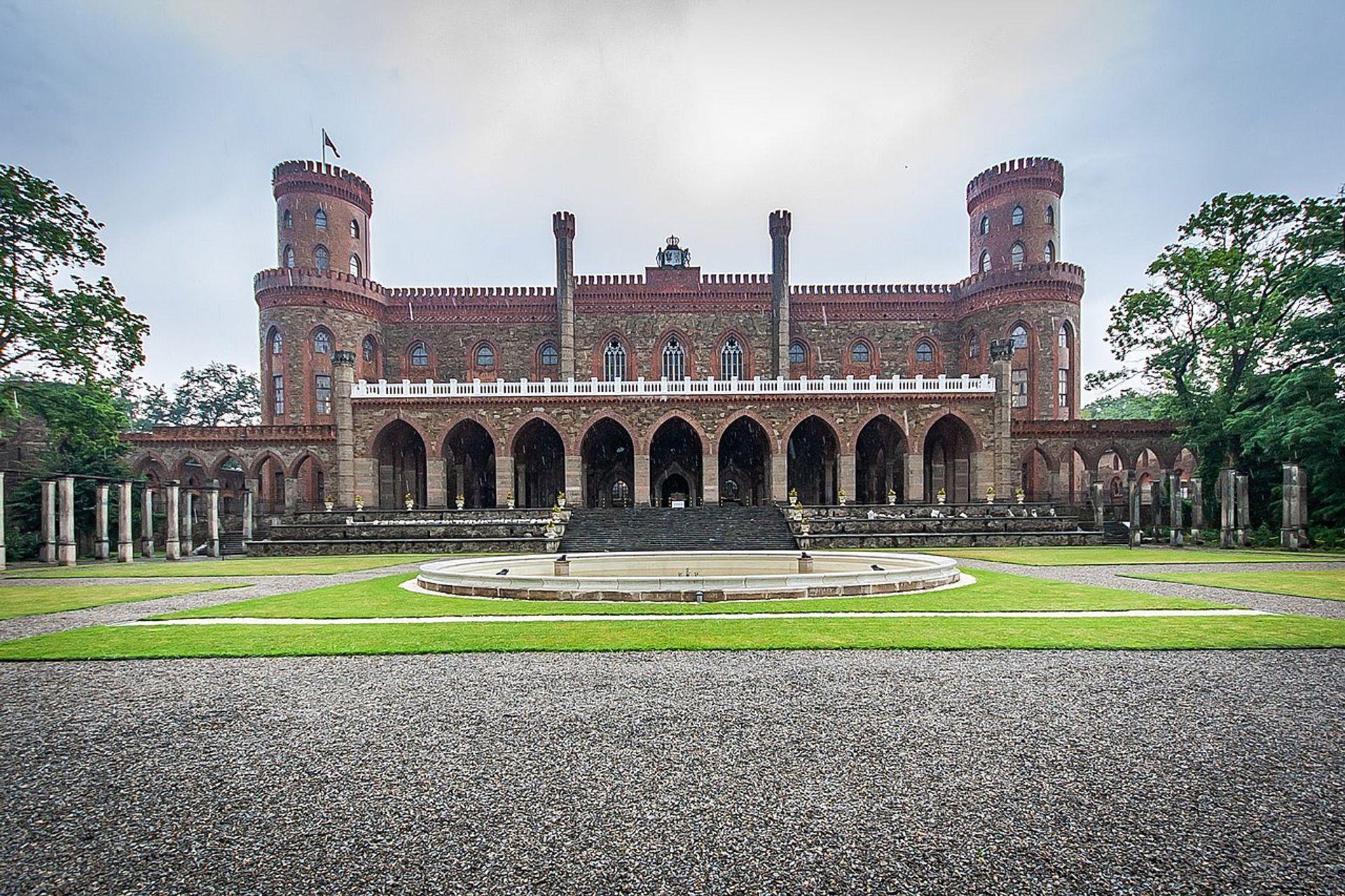 Zakończył się kolejny etap rewitalizacji Pałacu Marianny Orańskiej w Kamieńcu Ząbkowickim