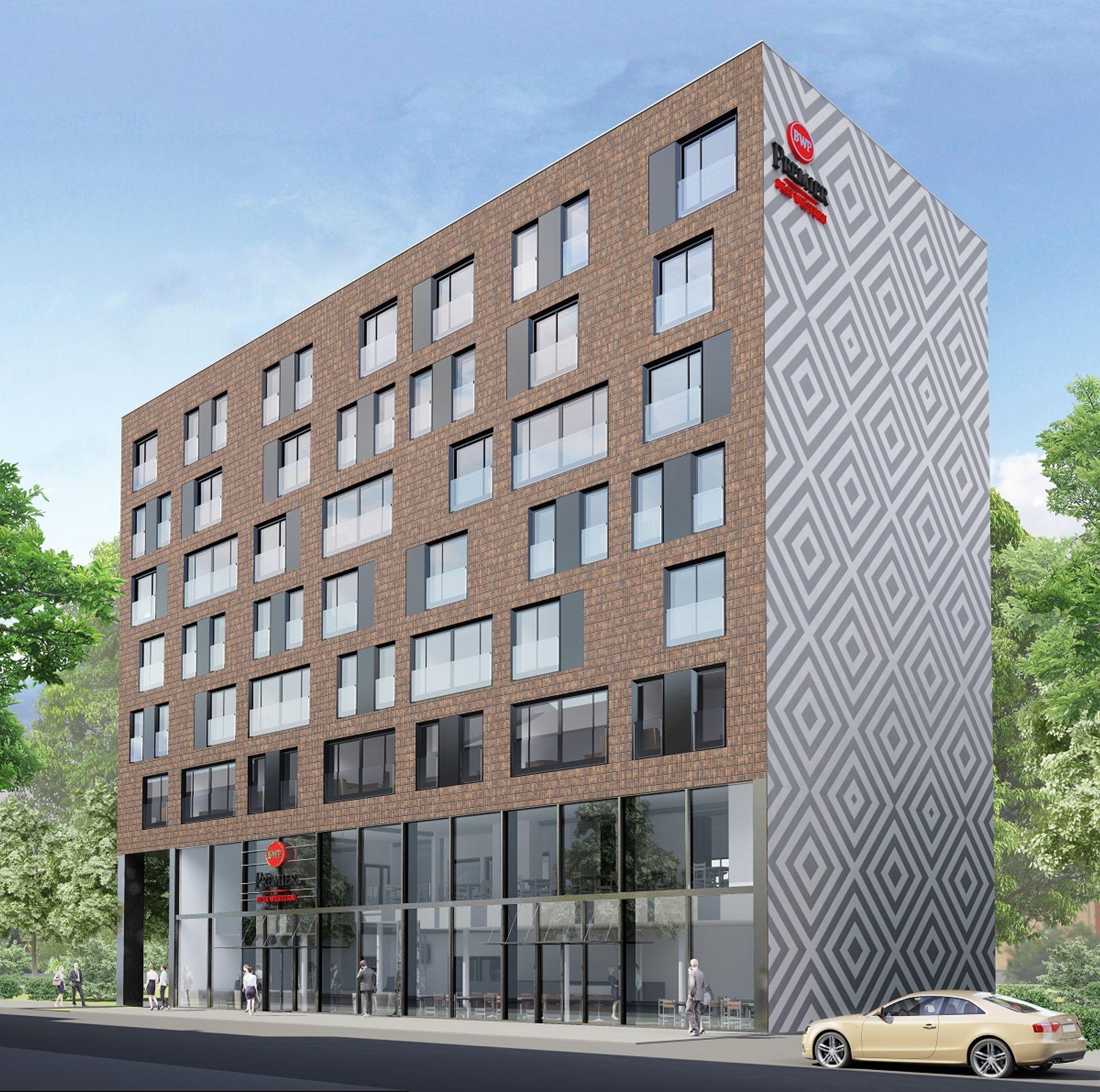[Wrocław] Vis-a-vis Dworca Głównego stanie nowy hotel. Będzie należał do znanej sieci [WIZUALIZACJE]