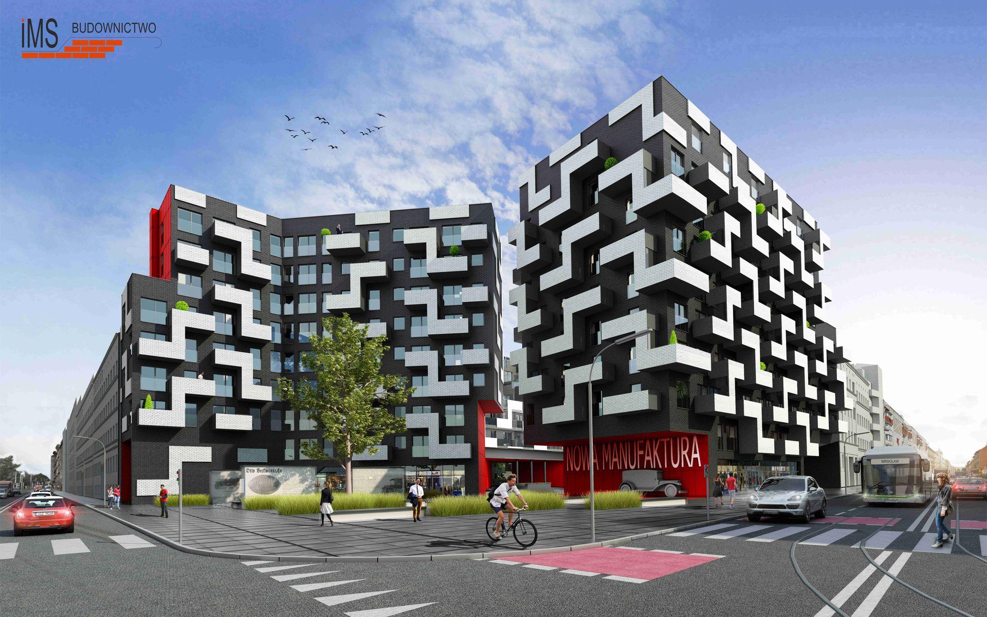Wrocław: Nowa Manufaktura – IMS zbuduje osiedle w miejsce dawnej fabryki samochodów na Przedmieściu Oławskim
