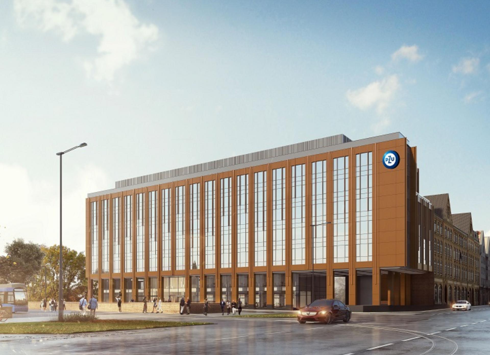 W centrum Wrocławia powstaje nowy biurowiec Brama Oławska [FILM + ZDJĘCIA + WIZUALIZACJE]