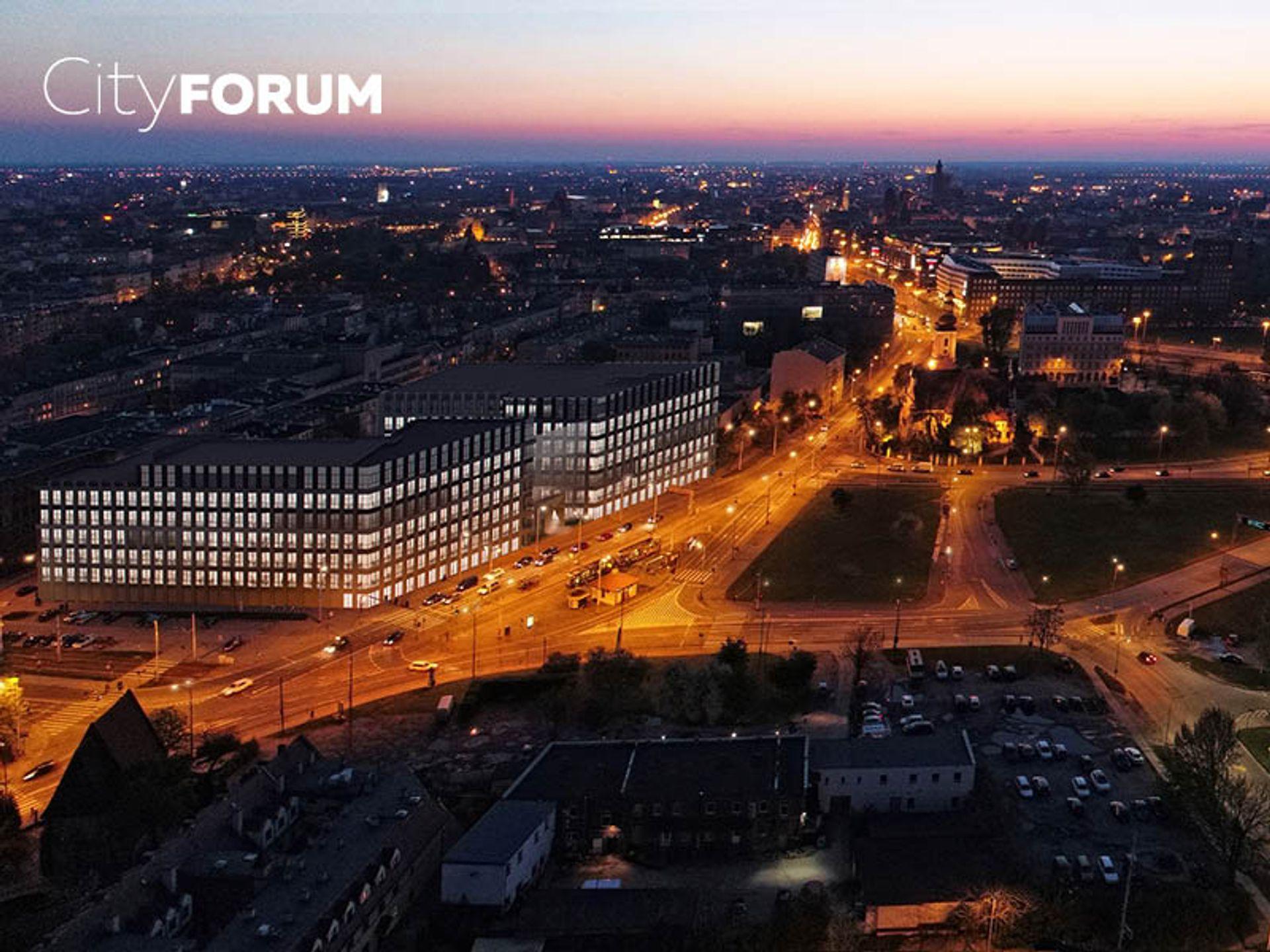 [Wrocław] Opex generalnym wykonawcą I etapu kompleksu biurowego City Forum