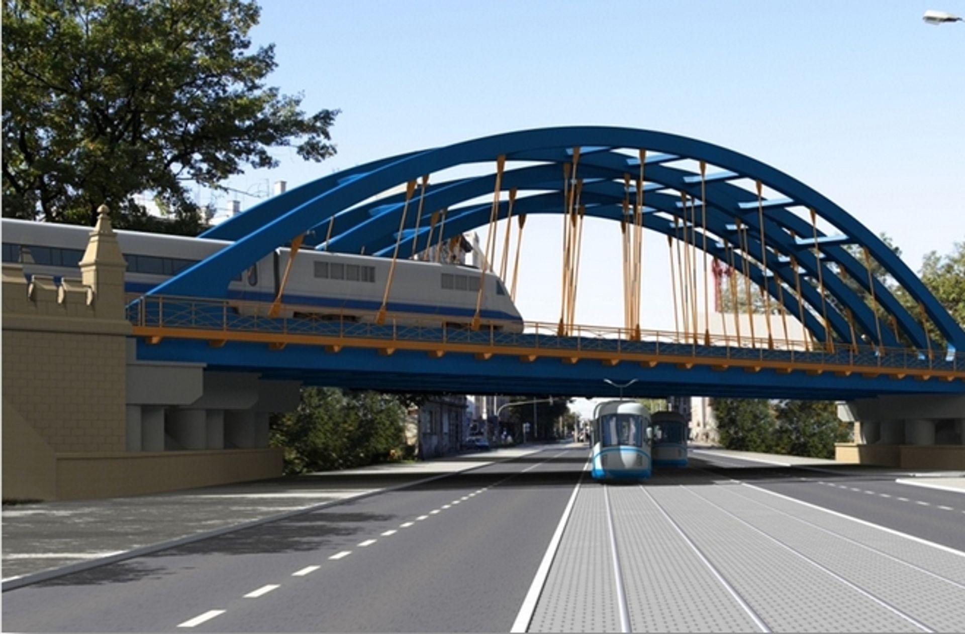 [Wrocław] We Wrocławiu przebudują wiadukty i most kolejowy na trasie do Poznania