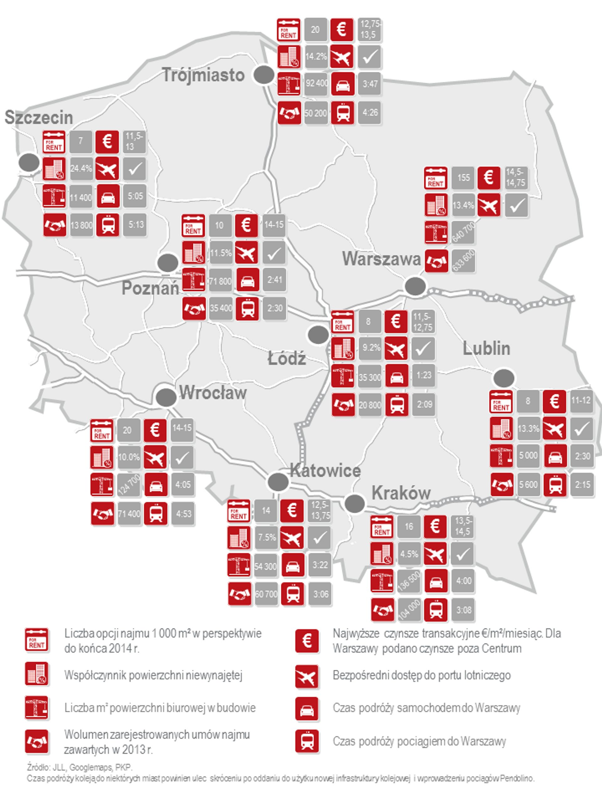 [Polska] Polski rynek biurowy gotowy na dynamiczny rozwój sektora usług dla biznesu