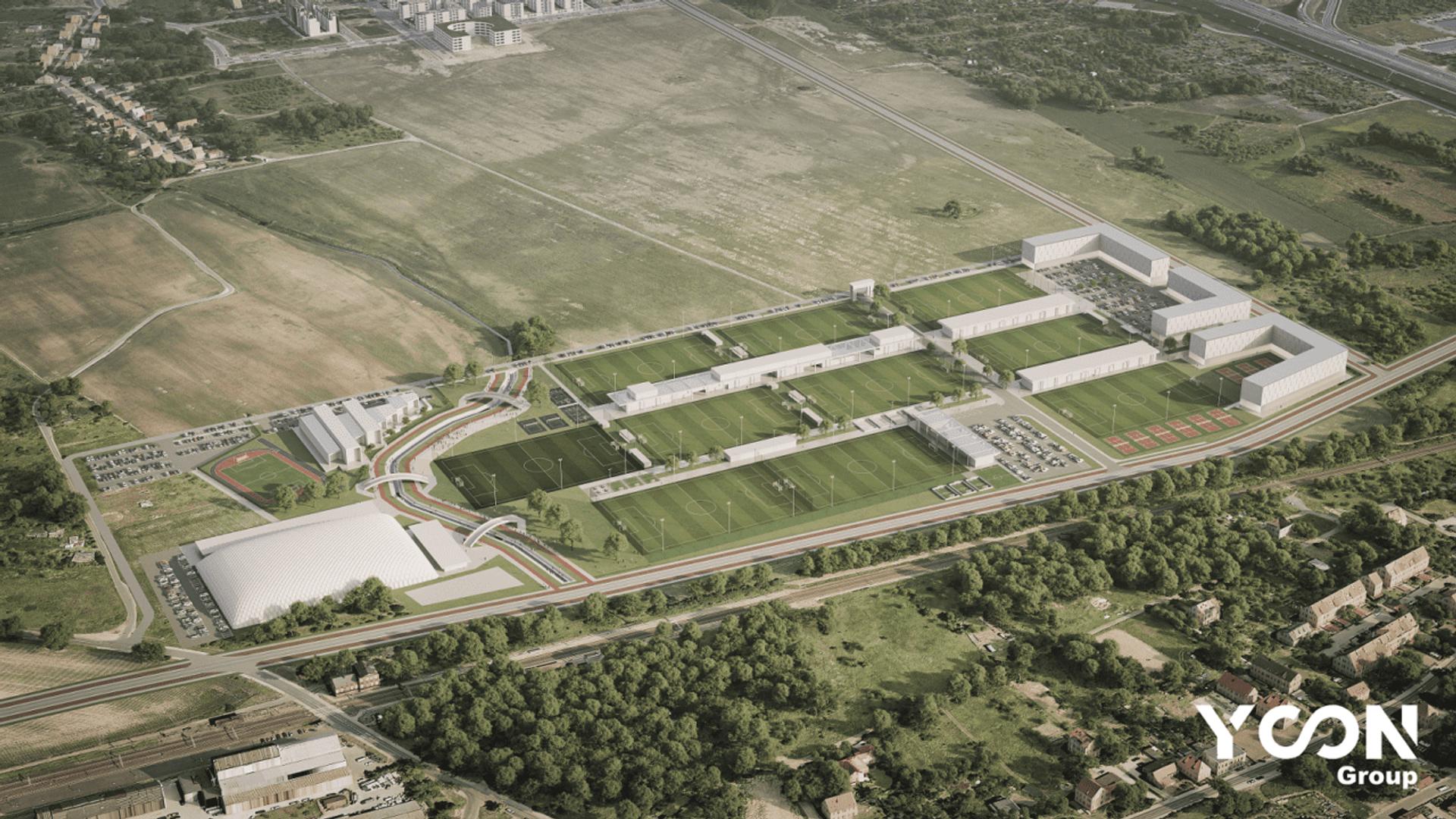 Śląsk Wrocław wybuduje na Nowych Żernikach wielki kompleks sportowy