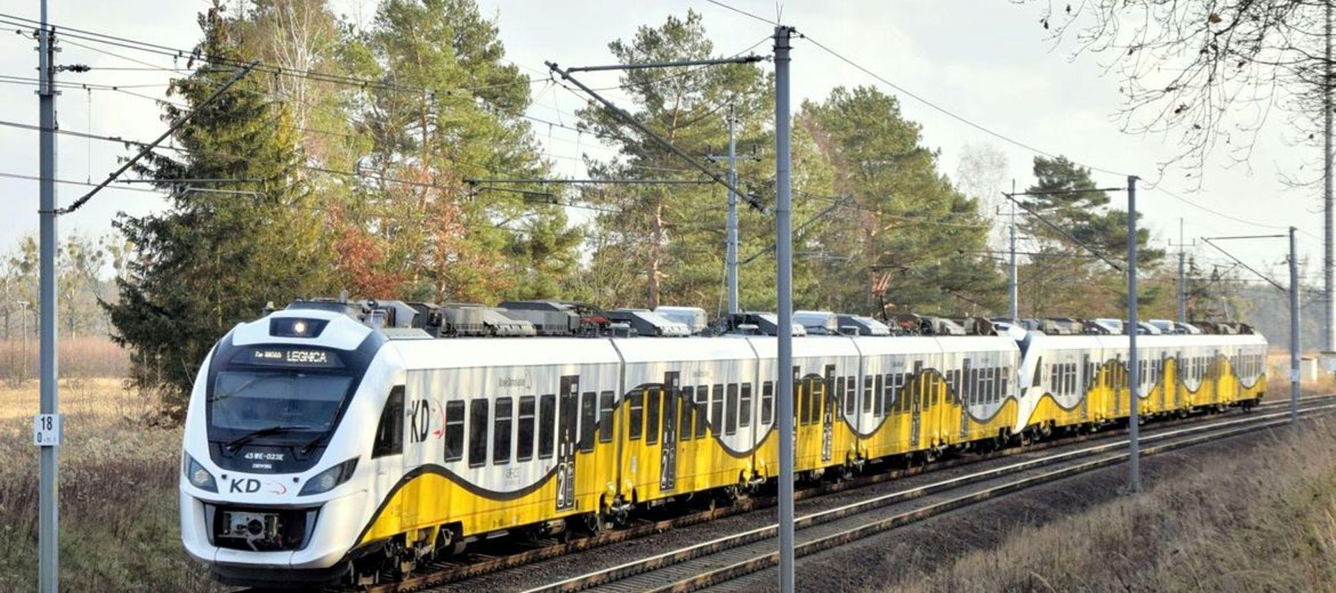 Głogów, Polkowice i Lubin ma połączyć nowa linia kolejowa