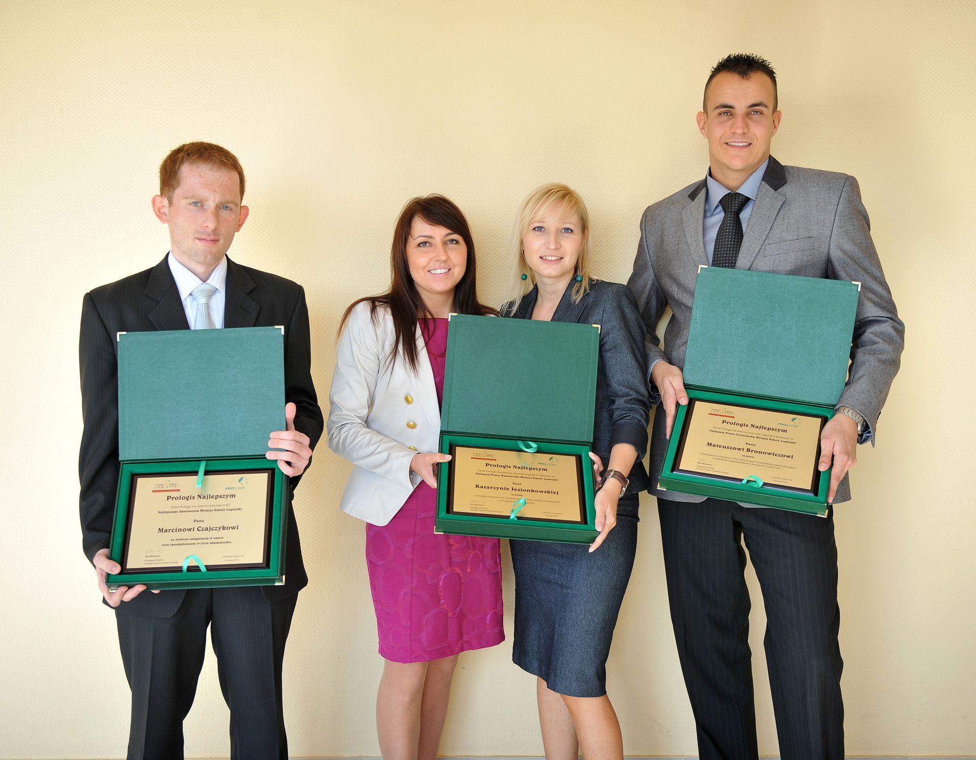 Wręczono Nagrody w Konkursie Prologis Najlepszym - Edycja 2011