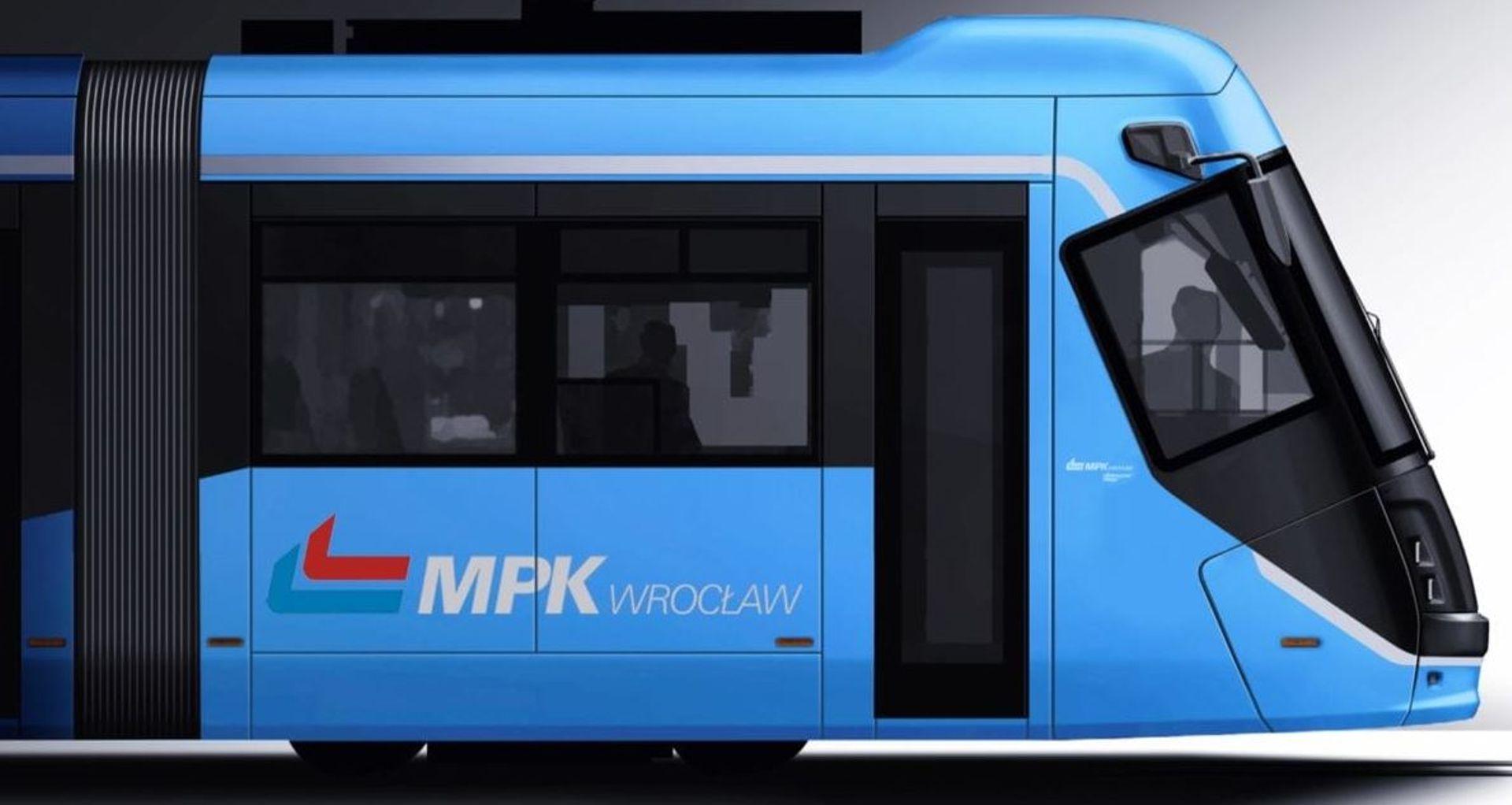 Tak po remoncie będą wyglądały tramwaje škoda 16T. MPK Wrocław zaprezentowało nowe wizualizacje