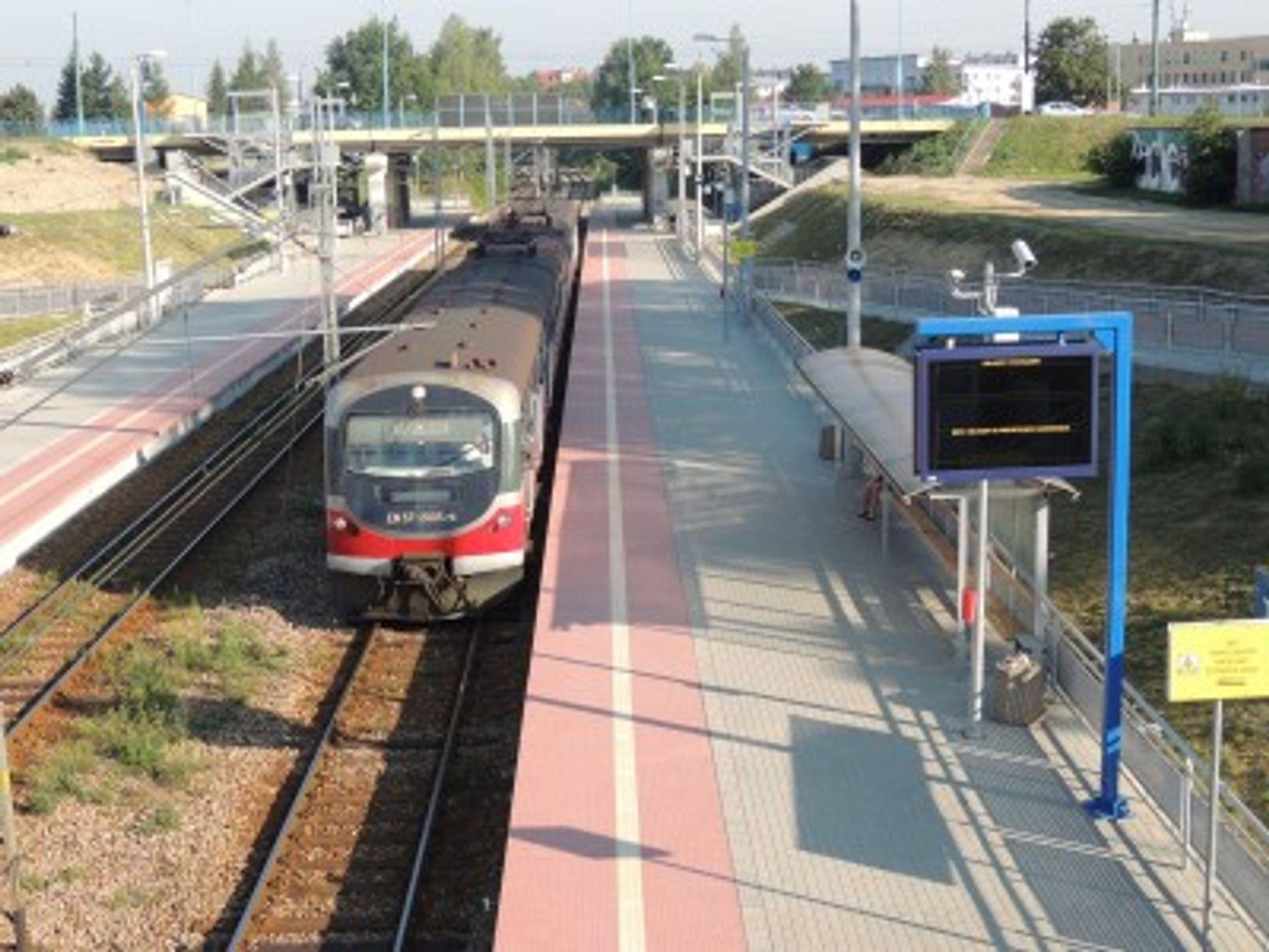 [śląskie] Nowe przystanki kolejowe w Tychach