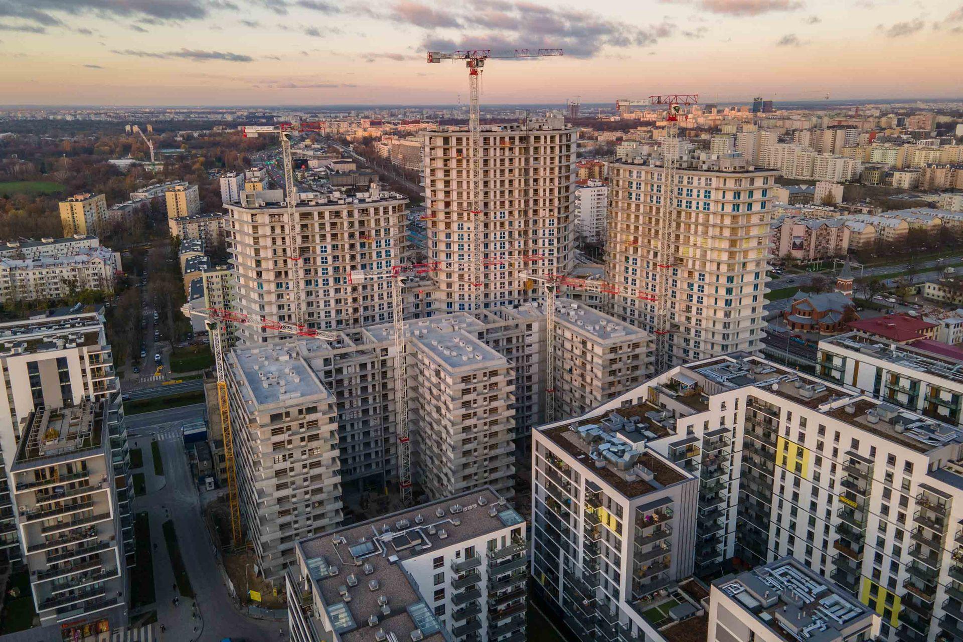Średnia cena ofertowa mieszkań w Warszawie przekroczyła 12 tysięcy złotych