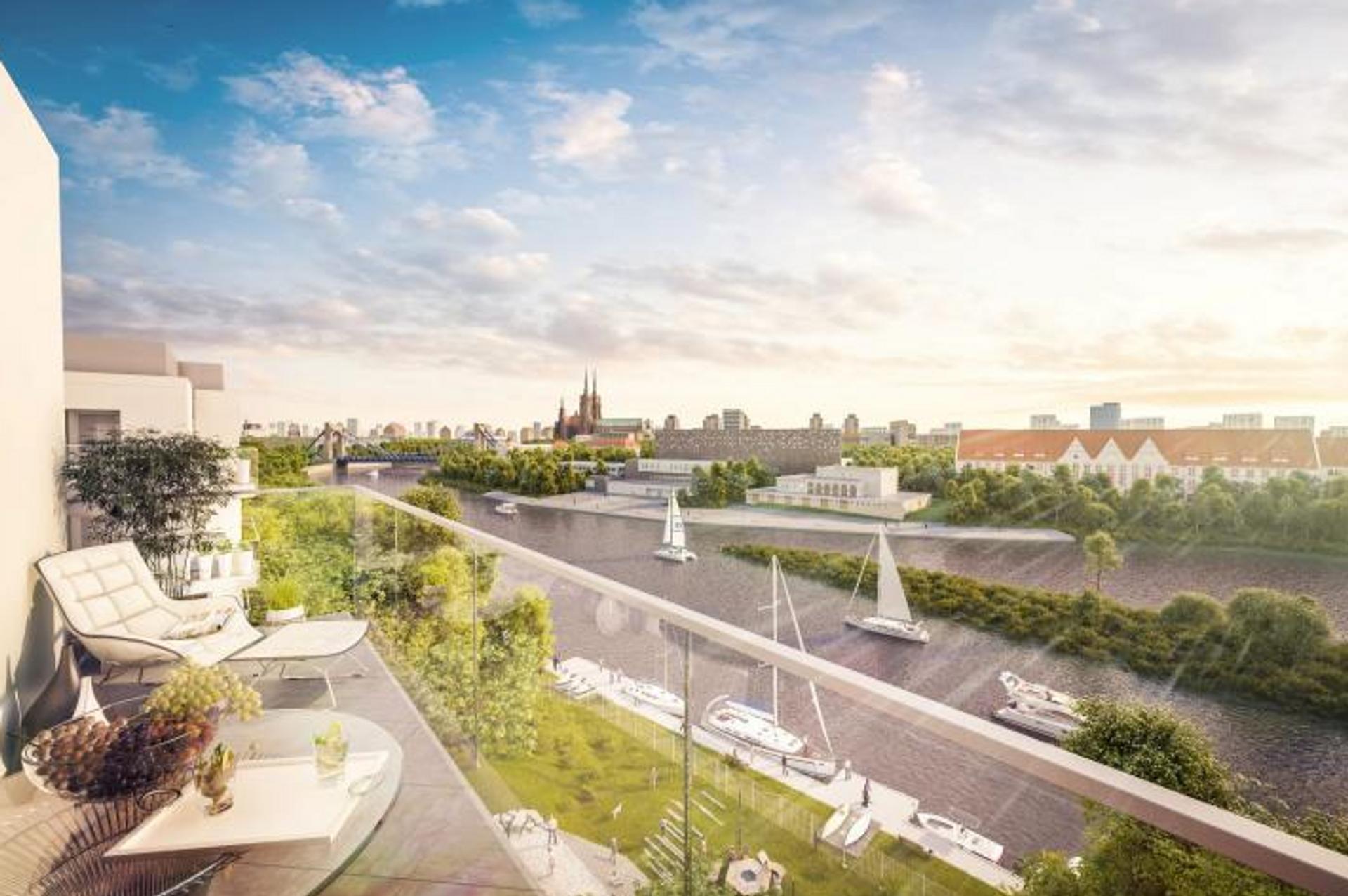 [Wrocław] Wkrótce ruszy budowa Mariny Miasto – kolejnego osiedla nad Odrą