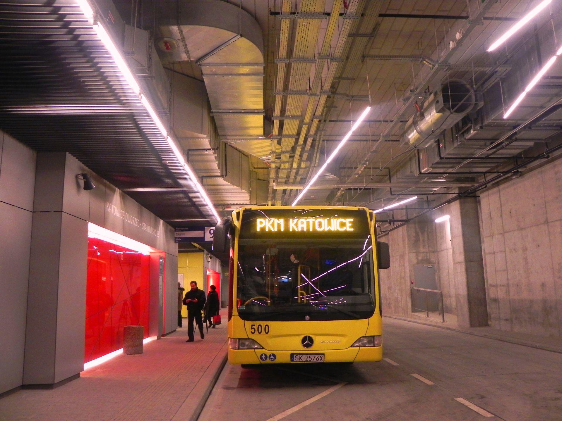 [Katowice] Dworzec autobusowy w Katowicach otwarty!