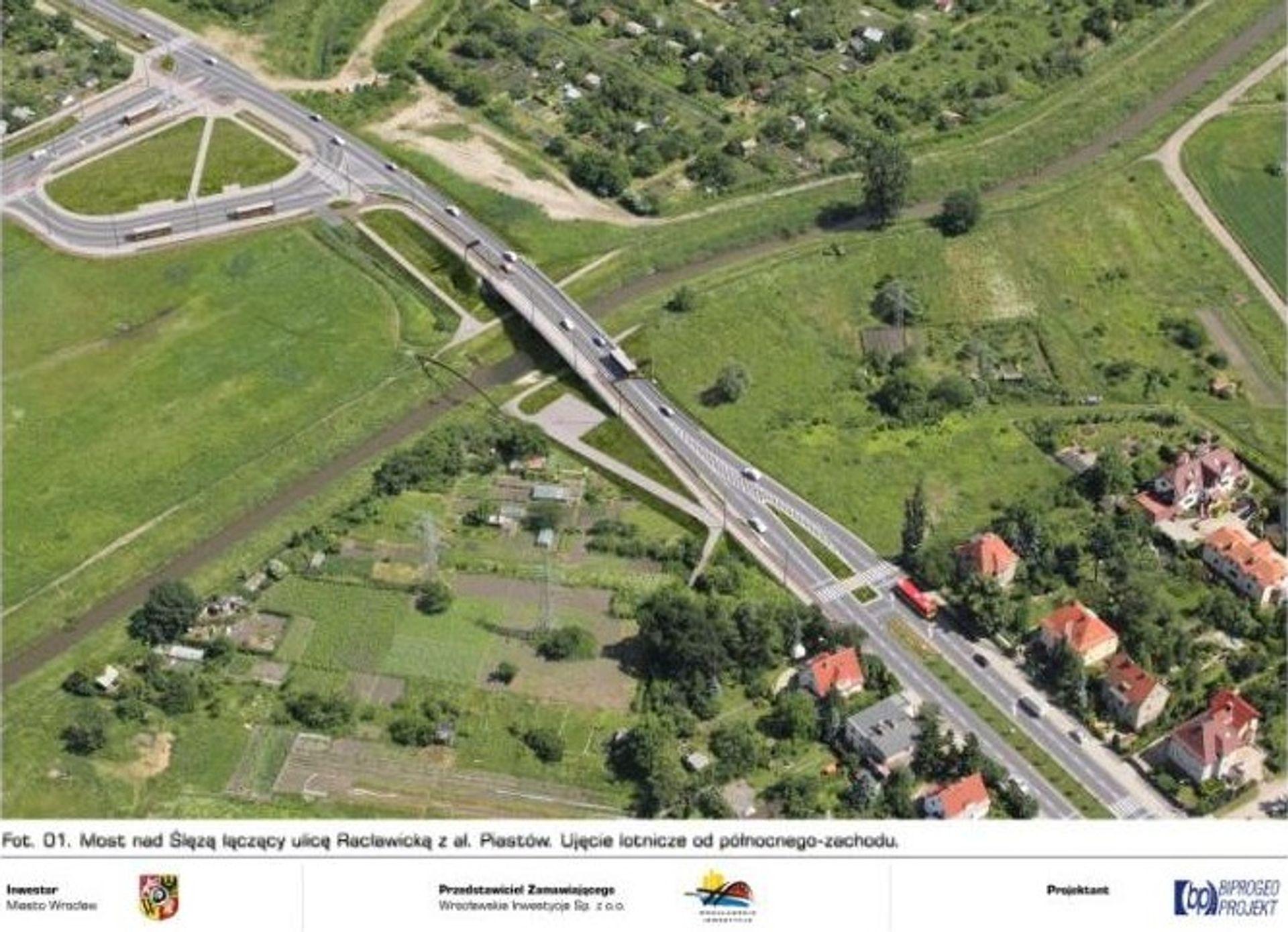 [Wrocław] Wszystko gotowe do budowy mostu na ul. Racławickiej tuż po czerwcowym Euro