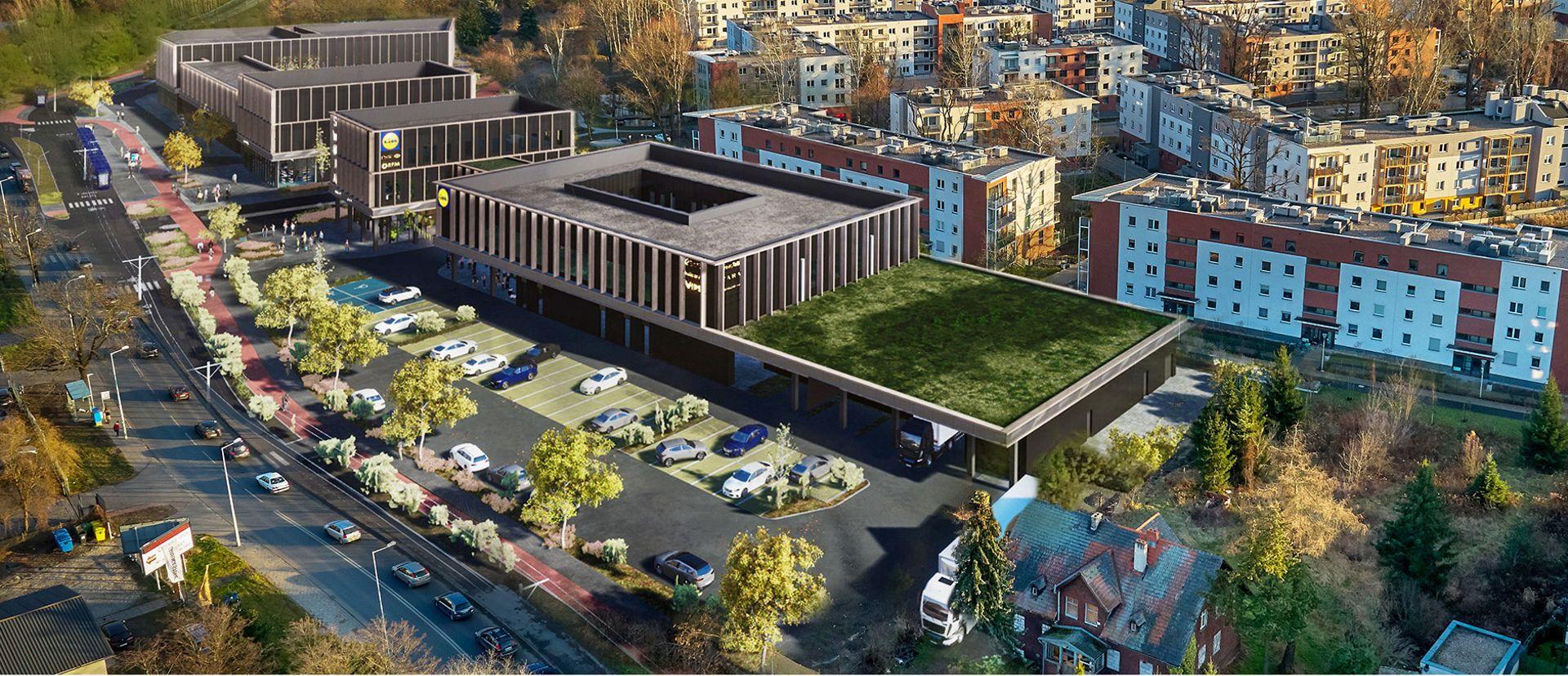 Wrocław: Swoja Olimpia – centrum handlowe z Lidlem powstaje na Swojczycach