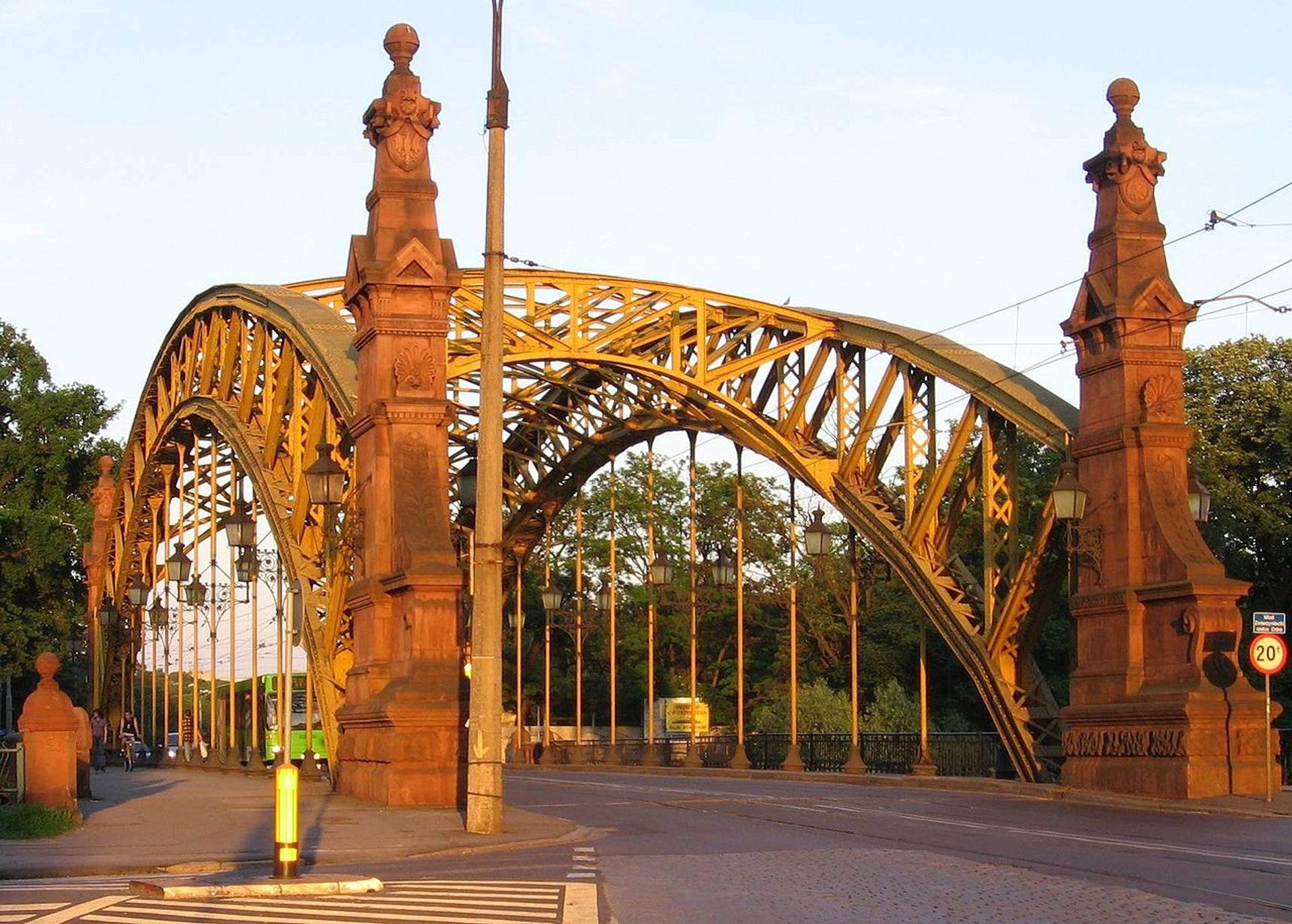 Rozpoczyna się renowacja mostu Zwierzynieckiego we Wrocławiu