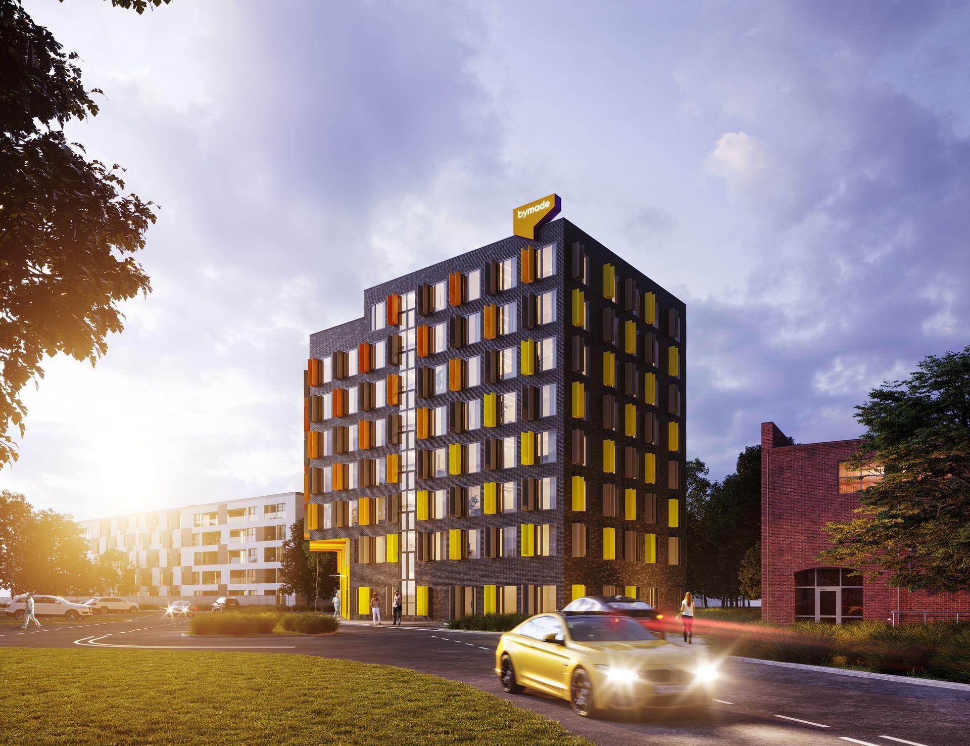 Wrocław: Legnicka 60C – zamiast biurowca, przy Magnolii powstanie aparthotel