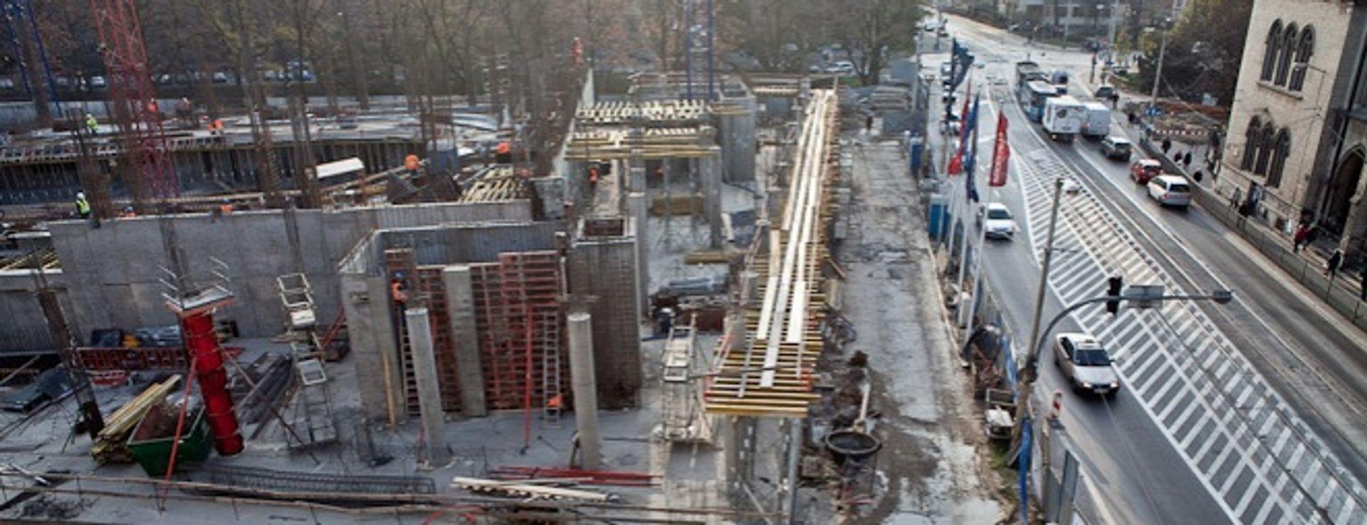 [Wrocław] Narodowe Forum Muzyki: budowa parkingu zakończona