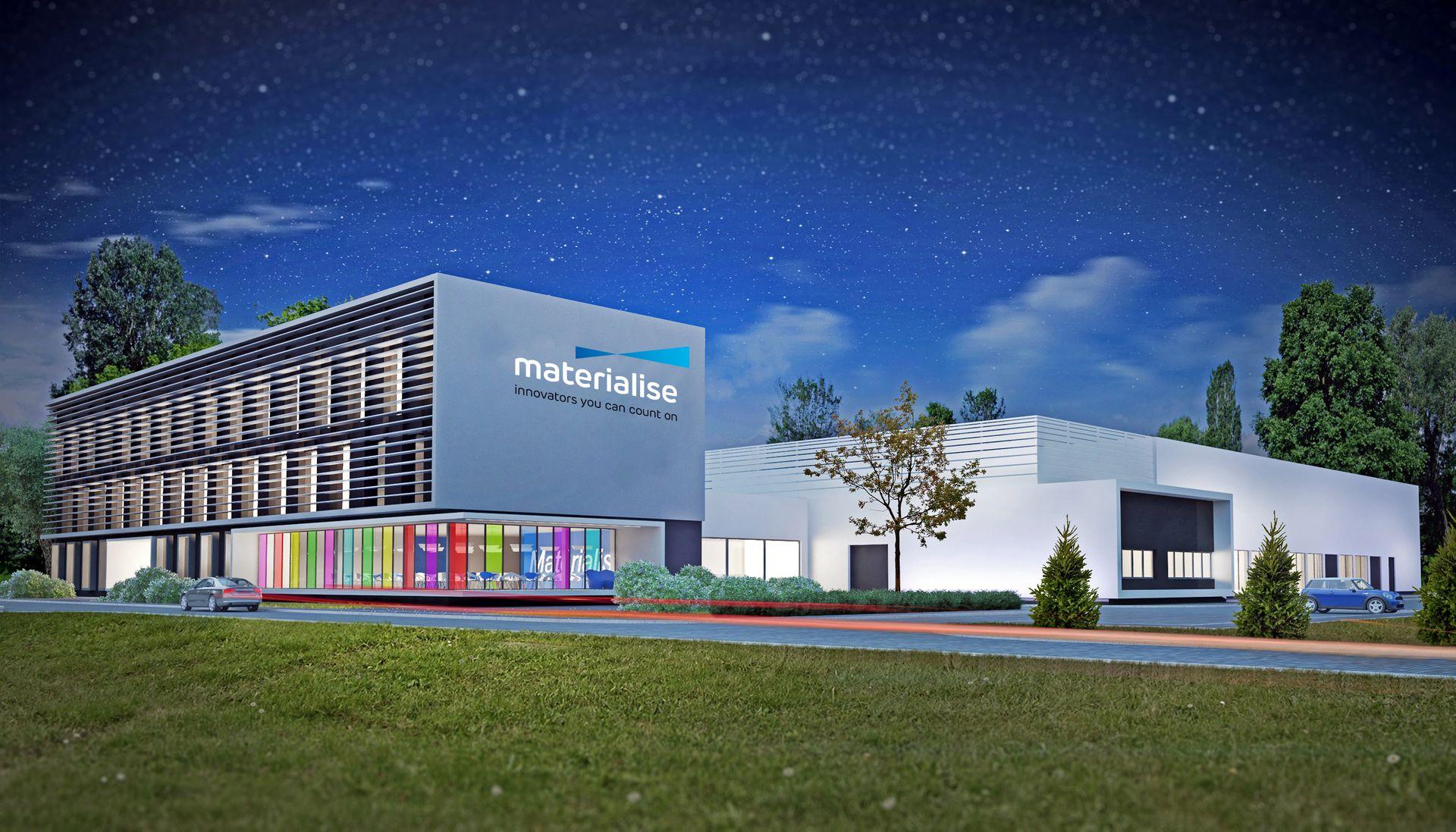 [Aglomeracja Wrocławska] Materialise inwestuje w Bielanach Wrocławskich [WIZUALIZACJE]