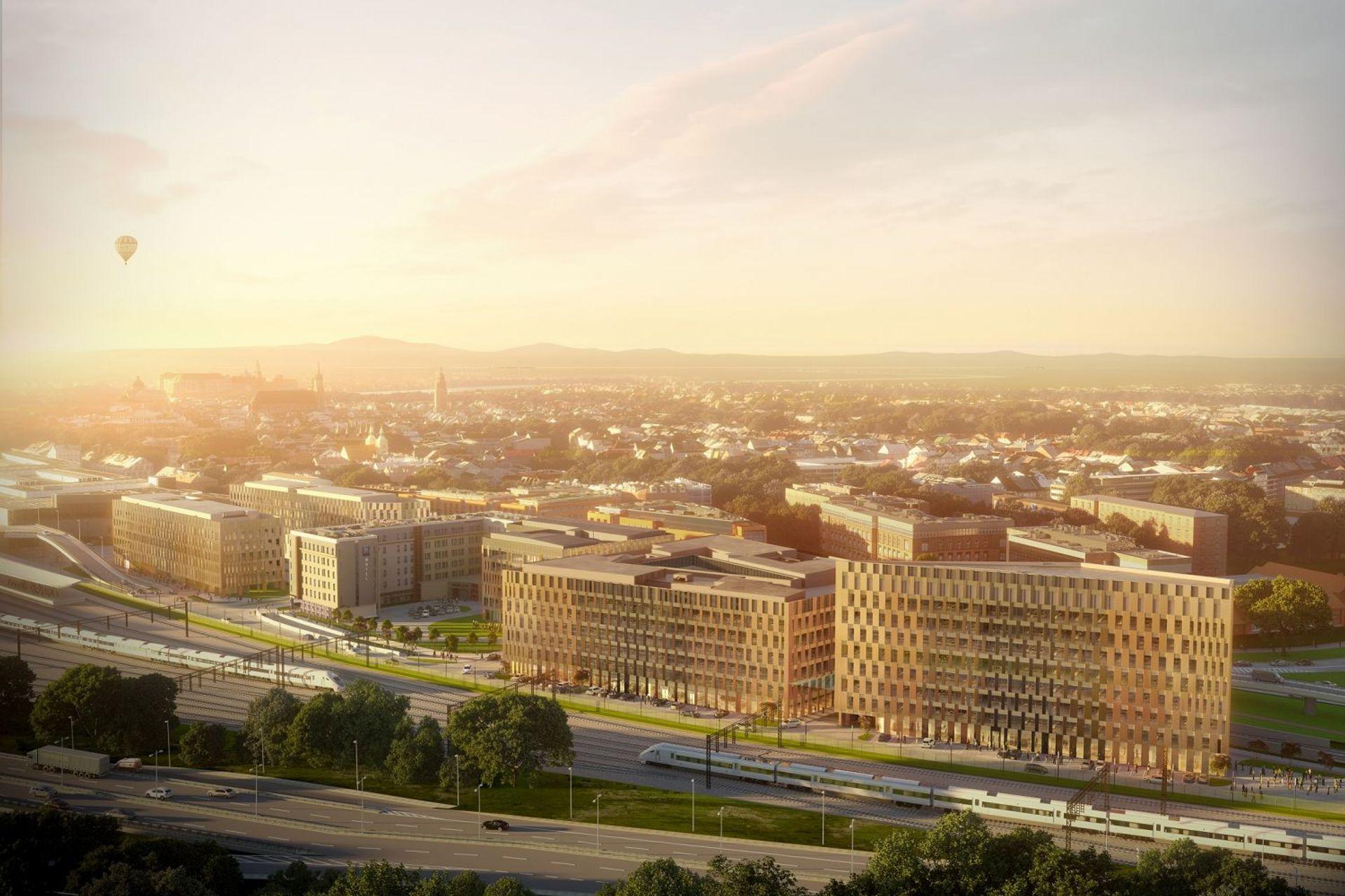 [Kraków] Rusza budowa kolejnego budynku kompleksu High5ive