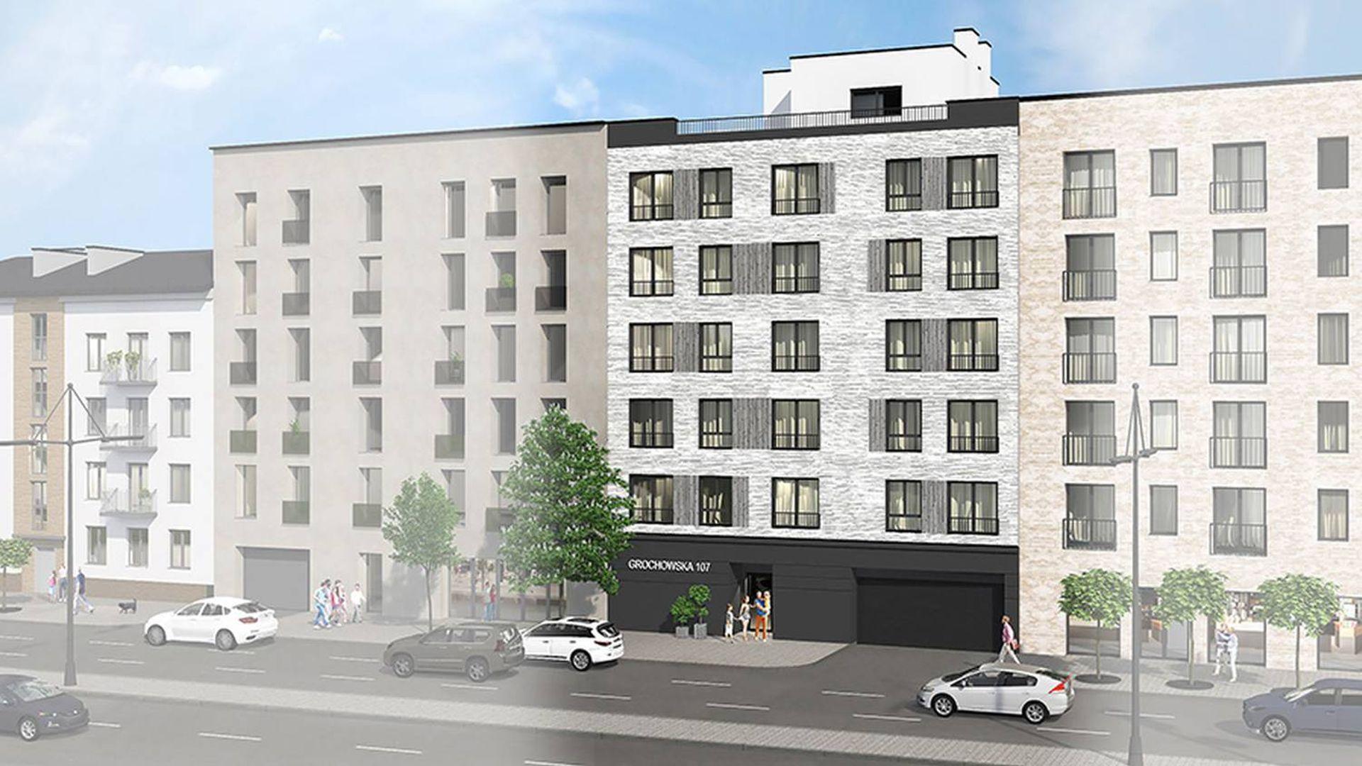 Warszawa: Grochowska 107 – CPM Development stawia na Gocławku kameralny apartamentowiec nastawiony na ekologię