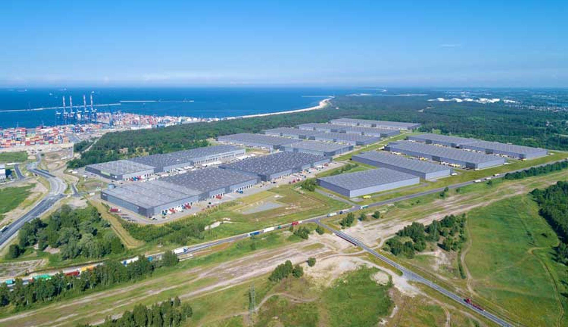 GLP rozbudowuje Pomorskie Centrum Logistyczne obok DCT Gdańsk
