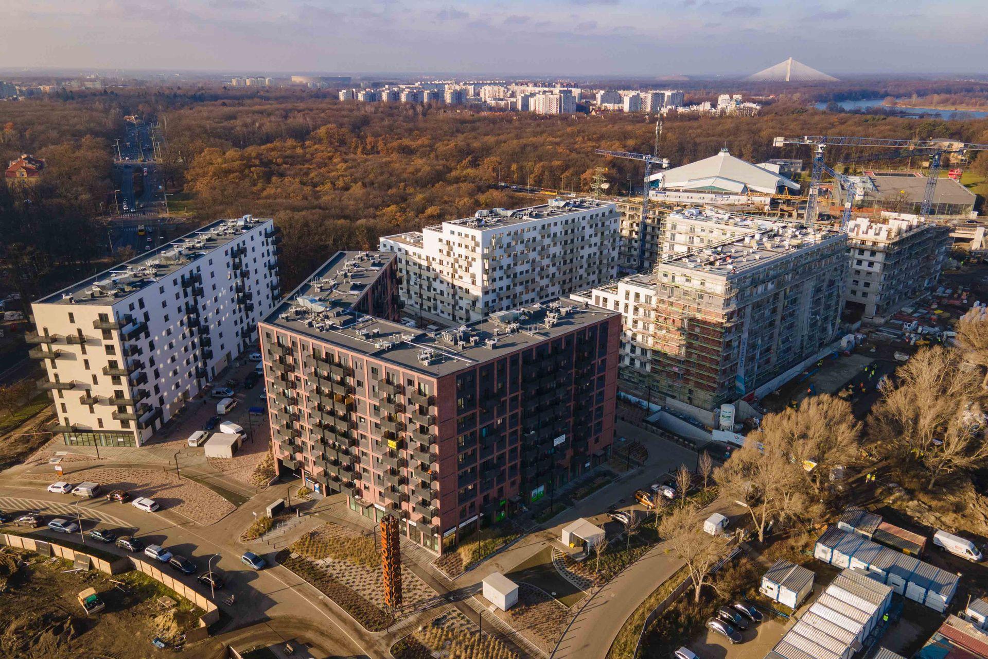 Trwa budowa osiedla Port Popowice we Wrocławiu