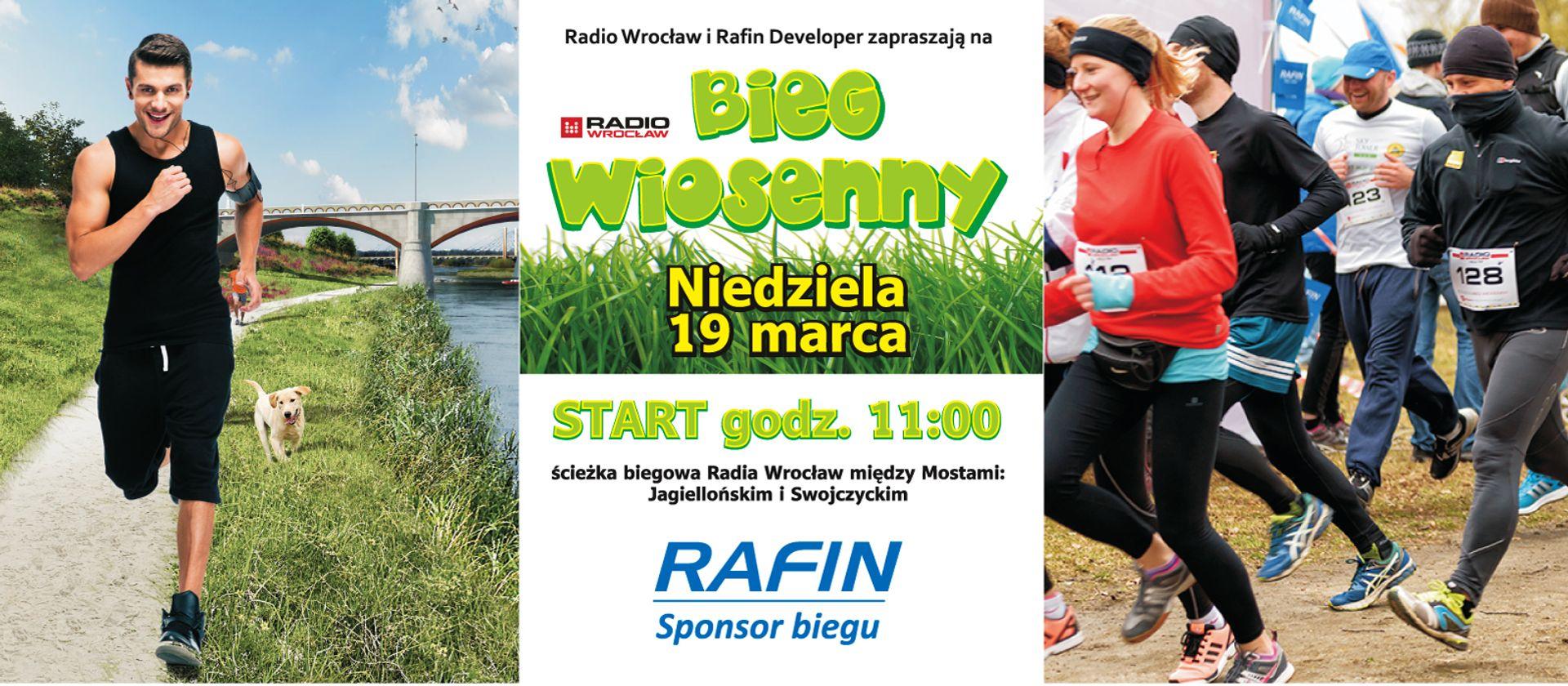 [Wrocław] Bieg Wiosenny z Radiem Wrocław i Rafin Developer
