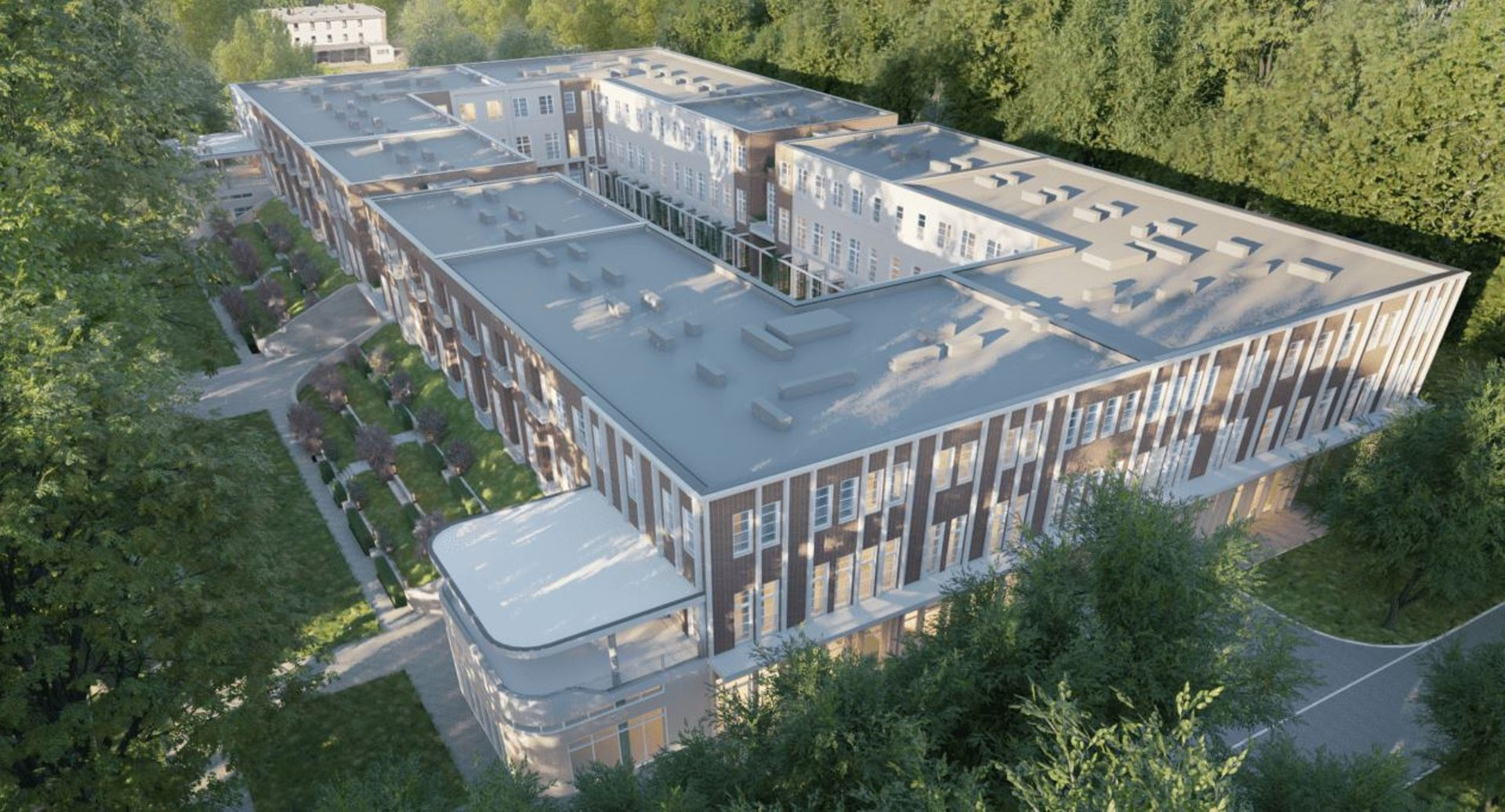 Rozpoczęła się budowa kontrowersyjnego budynku w miejscu dawnego Basenu Olimpijskiego we Wrocławiu [ZDJĘCIA + WIZUALIZACJE]