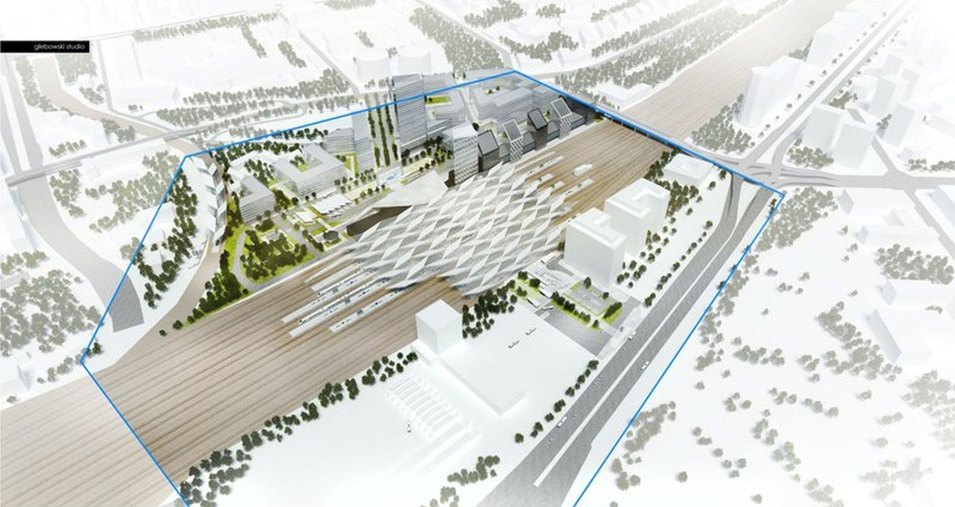 Trwają prace przy przebudowie Dworca Warszawa Zachodnia [FILM + ZDJĘCIA]