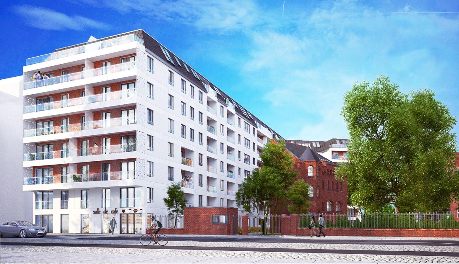 [Wrocław] Prawie 300 mieszkań na terenie dawnego szpitala. Połączą zabytkową zabudowę z nowoczesną architekturą [WIZUALIZACJE]