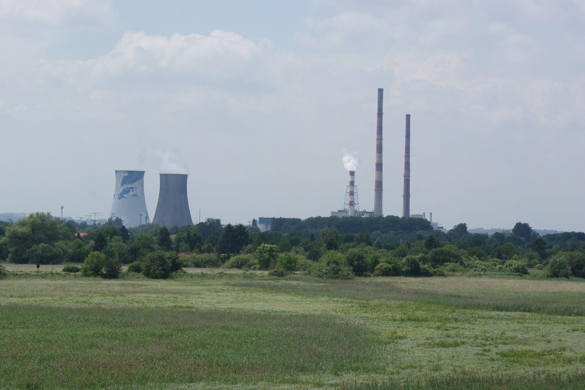 [Kraków] Rozbiorą komin w elektrociepłowni