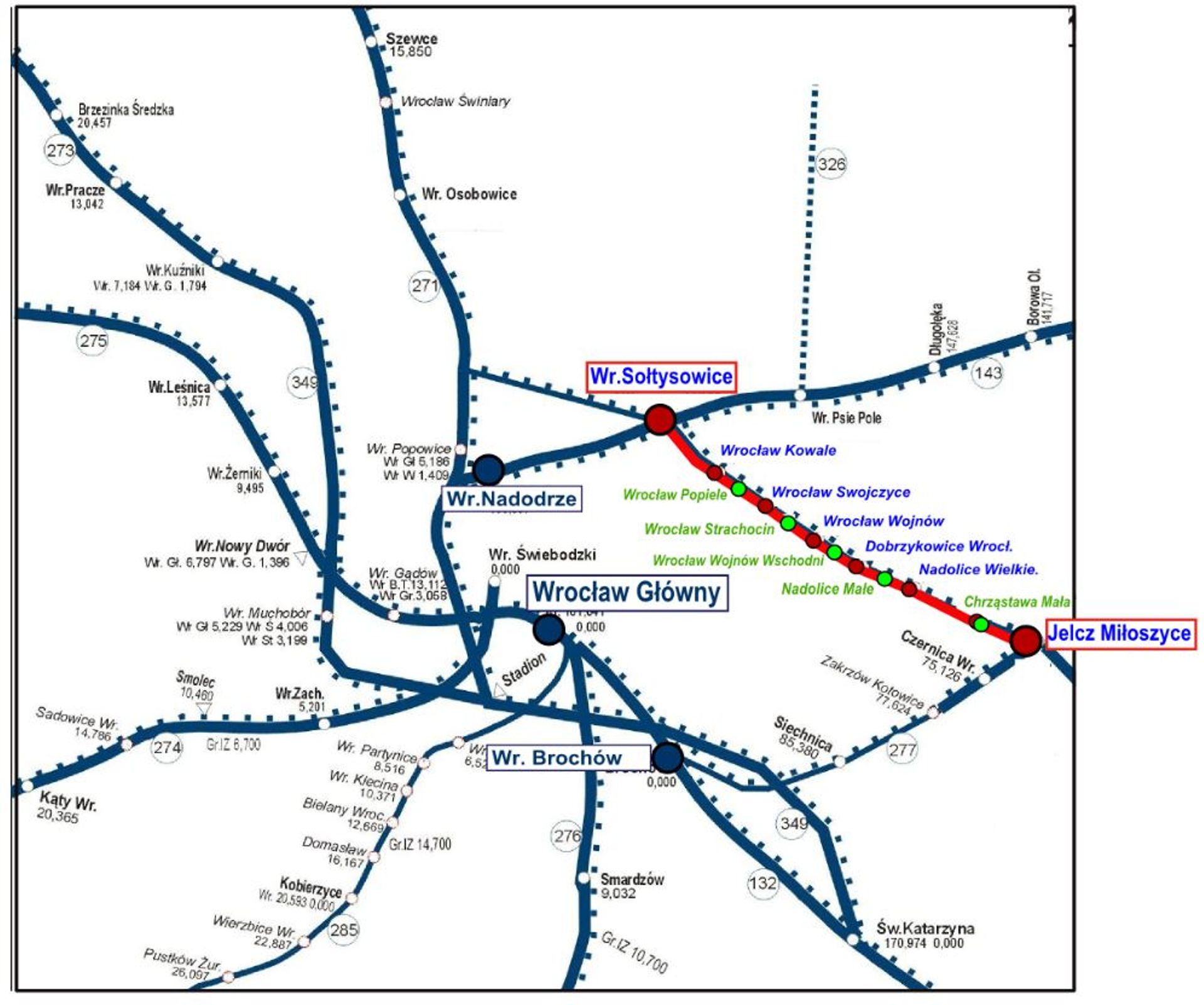 W połowie roku planowane jest wznowienie ruchu kolejowego na linii z Wrocławia do Jelcza Miłoszyc