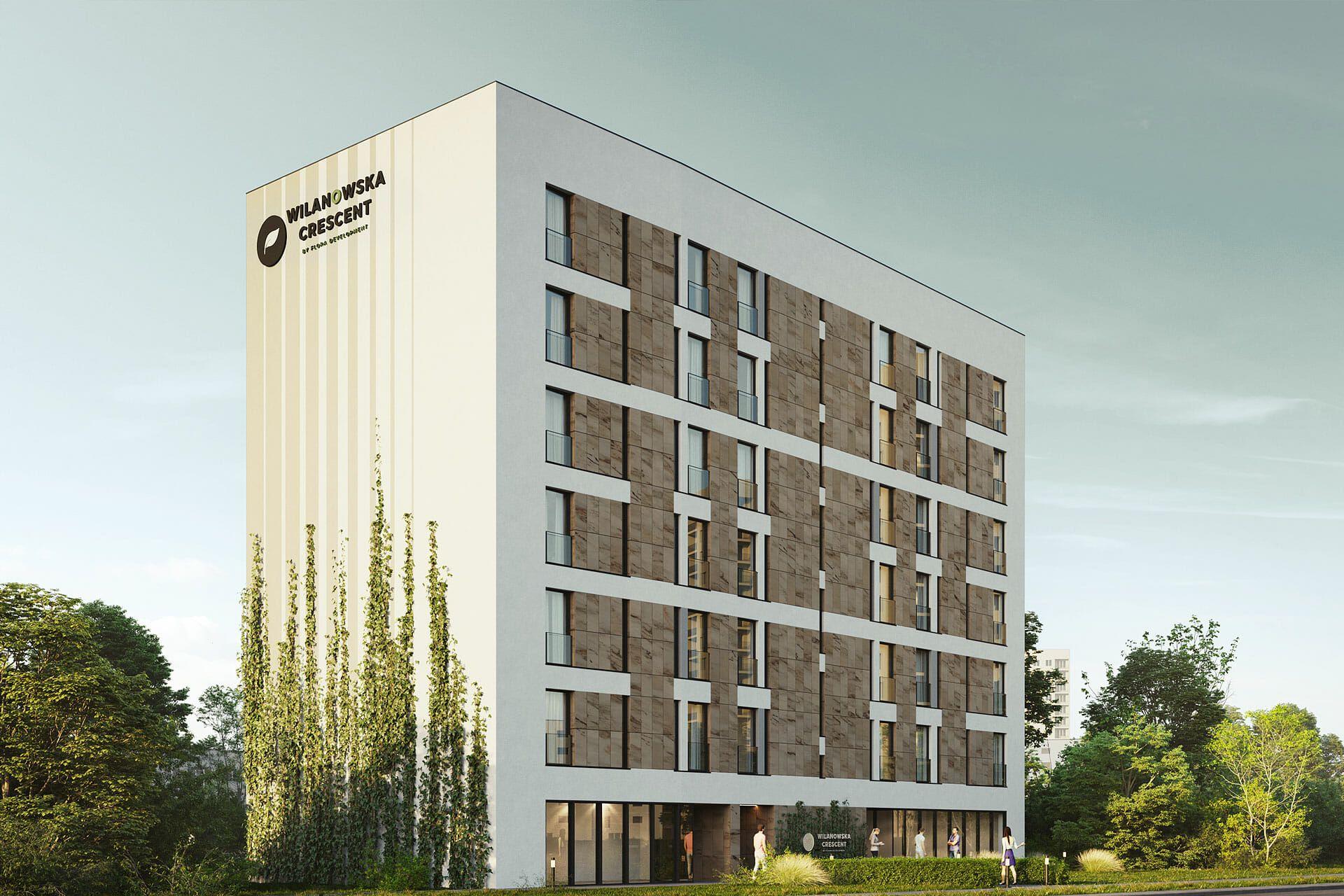 Warszawa: Wilanowska Crescent – Flora Development zbuduje apartamenty na Mokotowie