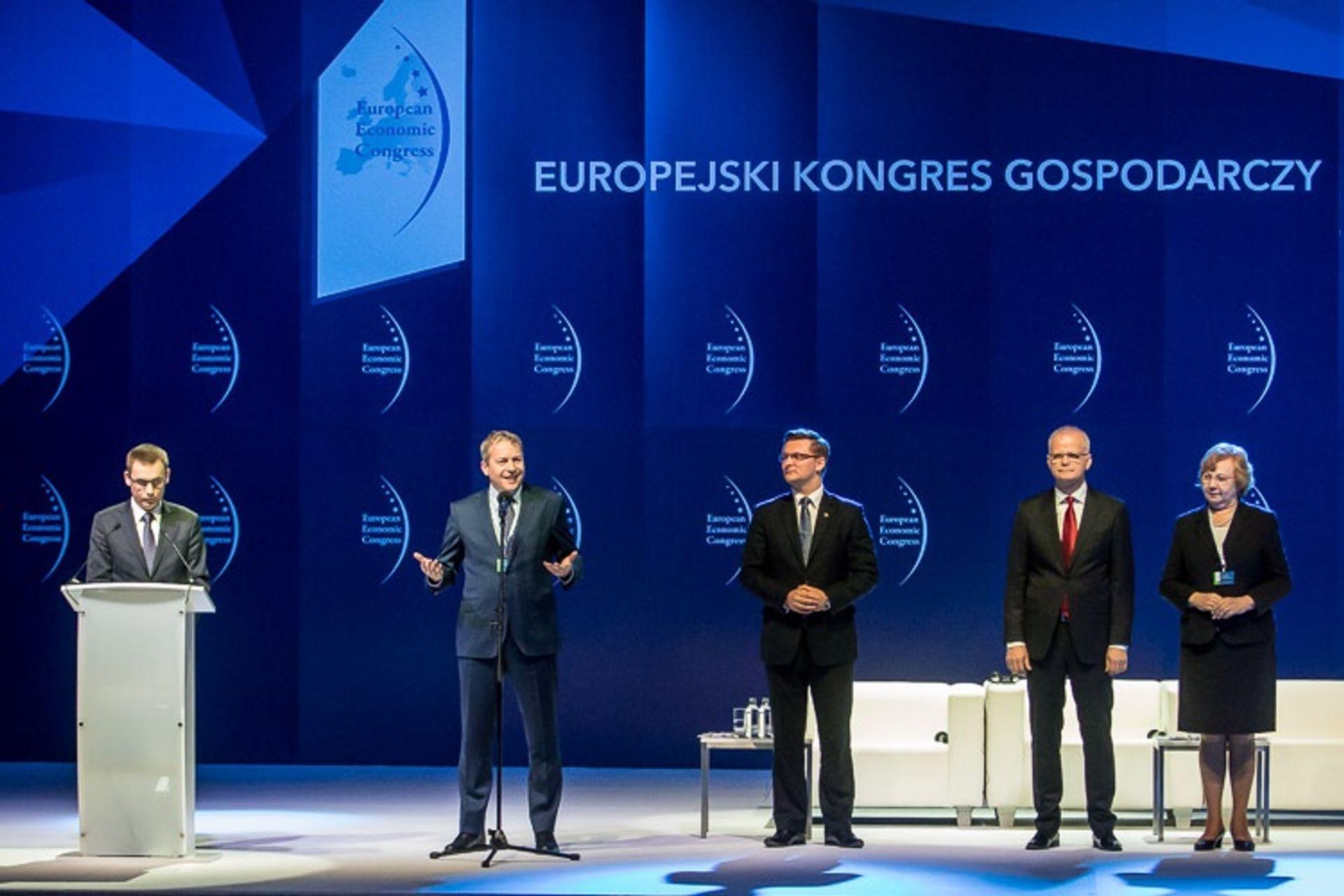 [Katowice] Europejski Kongres Gospodarczy: innowacyjność receptą na lepszą przyszłość