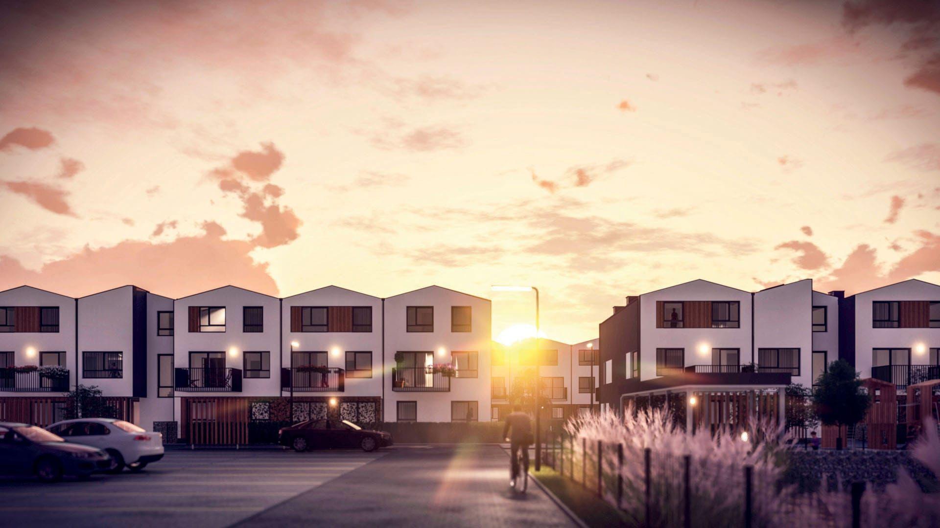 Warszawa: Orso – Bouygues Immobilier Polska zbuduje w Ursusie osiedle w stylu szeregówek