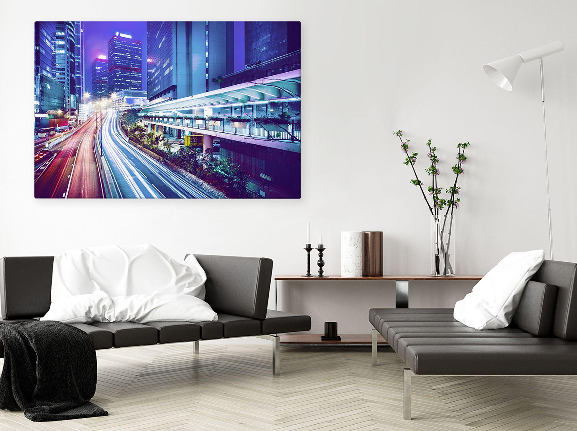 Obraz z widokiem miasta – dekoracja dla miłośników słynnych metropolii