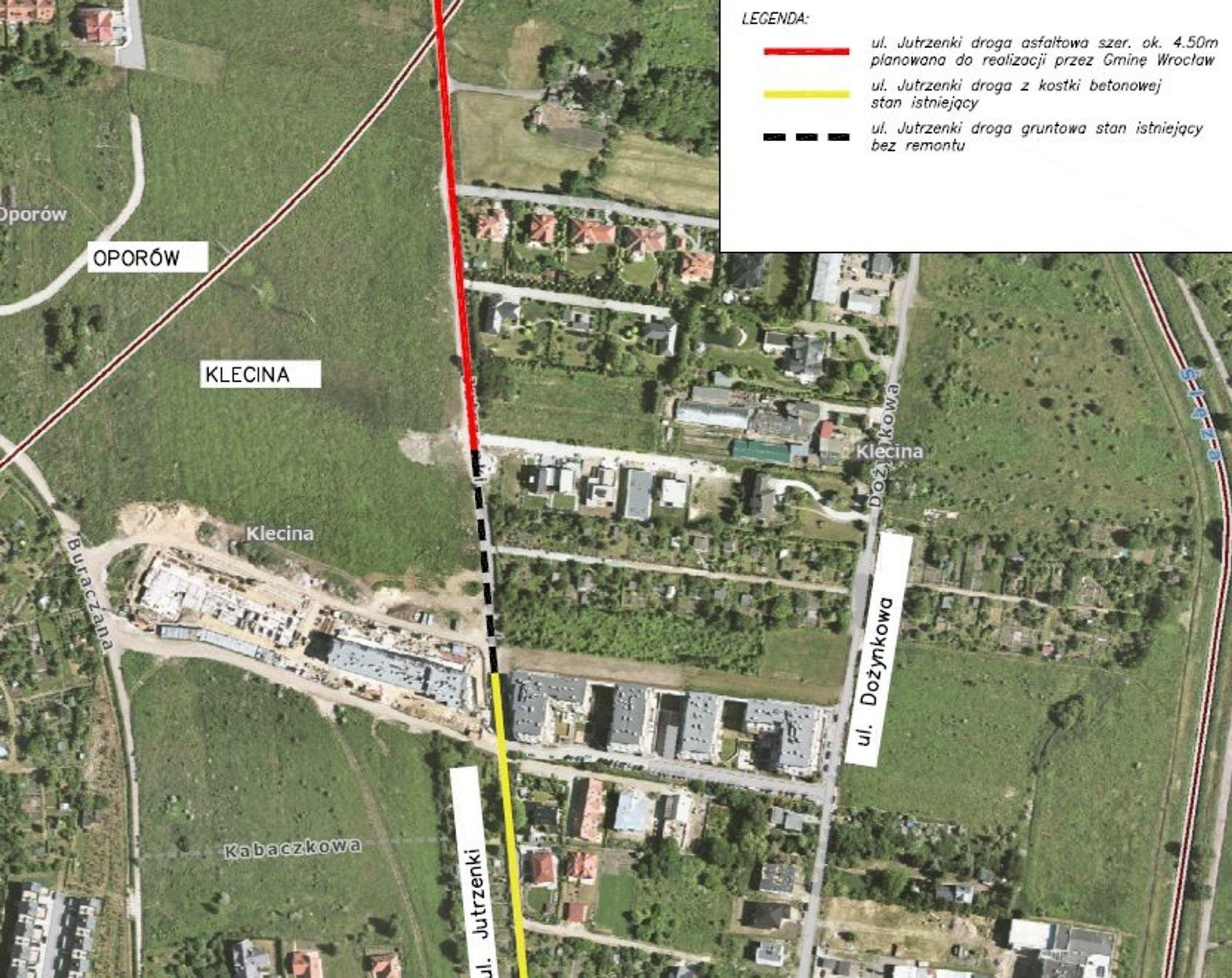 Mieszkańcy Kleciny chcą przebudować ulicę. Urzędnicy proponują rozwiązanie
