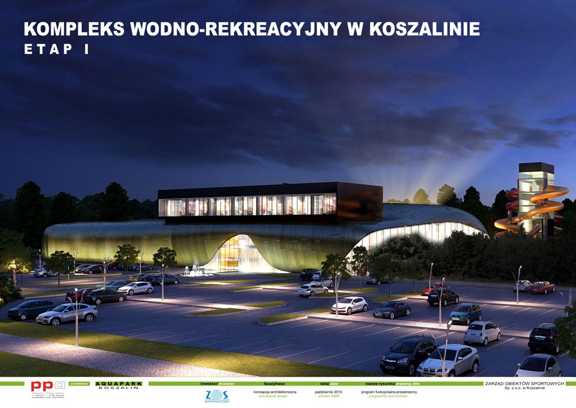 [zachodniopomorskie] Zarząd Obiektów Sportowych Sp. z o.o. zerwał umowę na budowę aquaparku w Koszalinie
