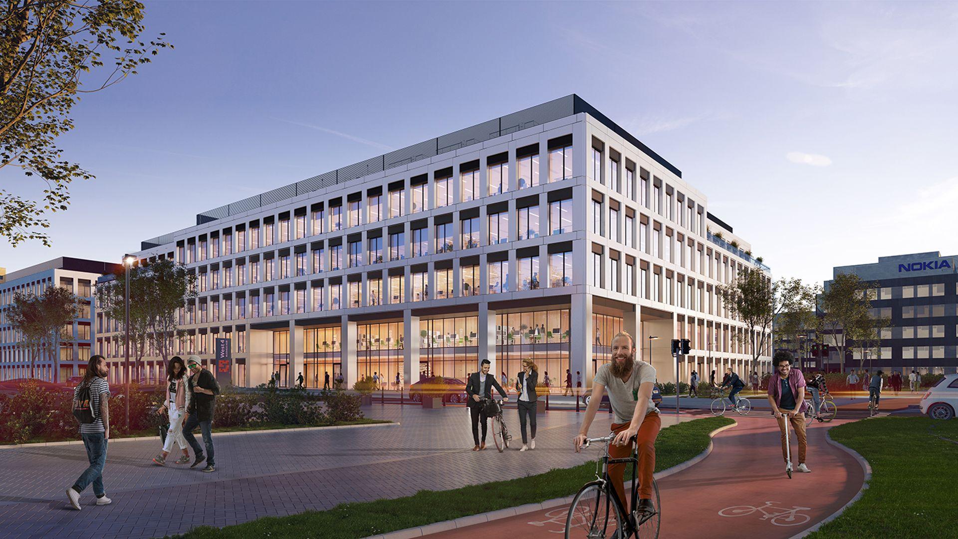 Wrocław: Zakończyła się budowa I etapu kompleksu biurowego West 4 Business Hub na Gądowie