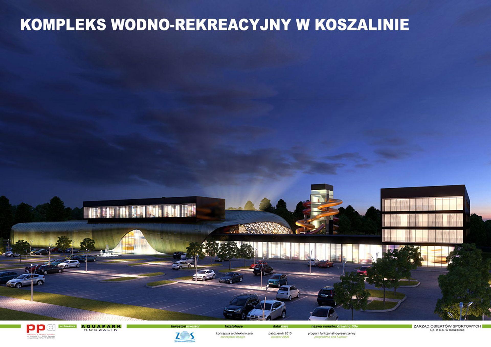 [zachodniopomorskie] Park wodny w Koszalinie: przetarg zakończony, firma wybrana