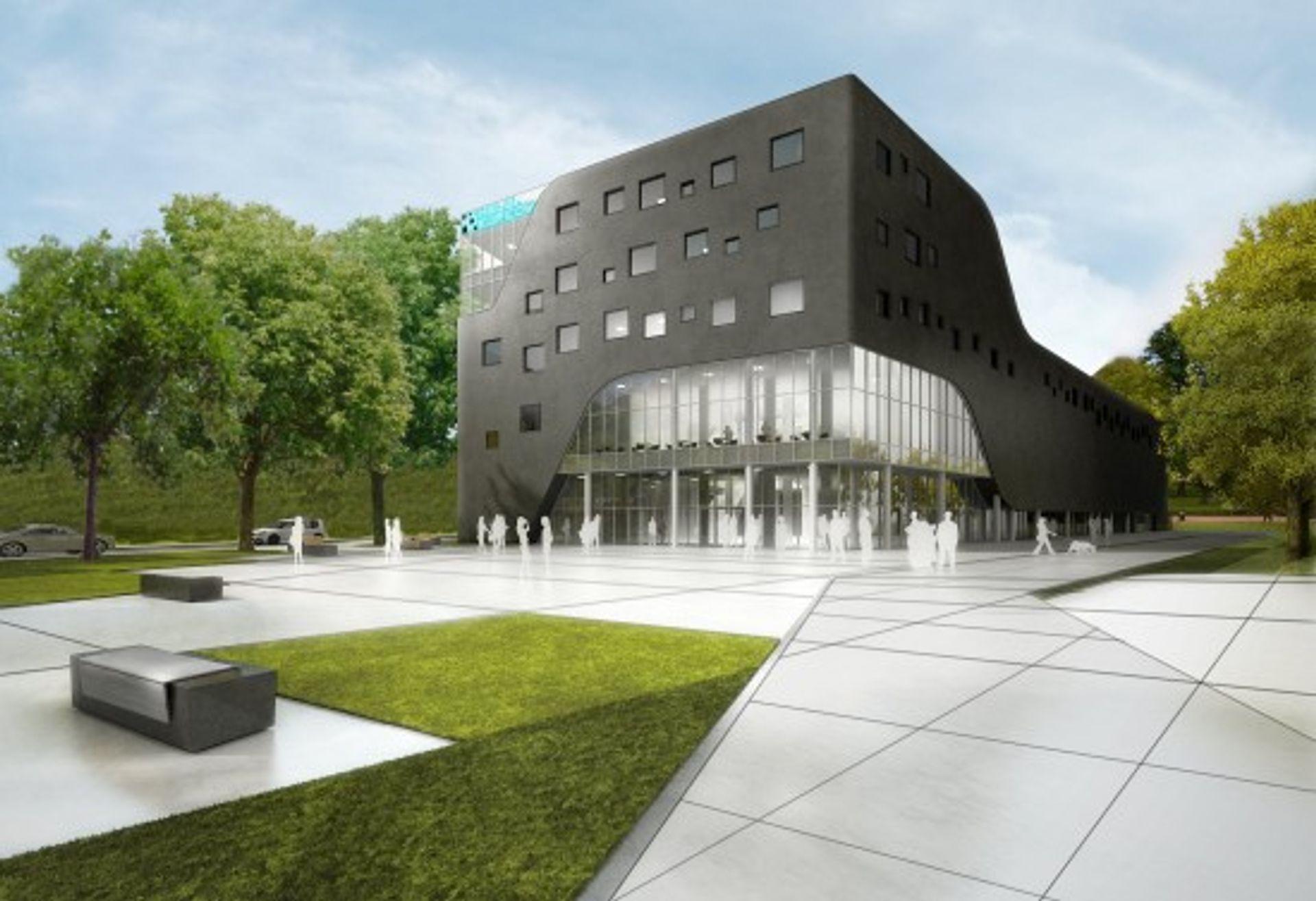 [Wrocław] W kwietniu kupcy wprowadzą się do Centrum Biznesu Grafit