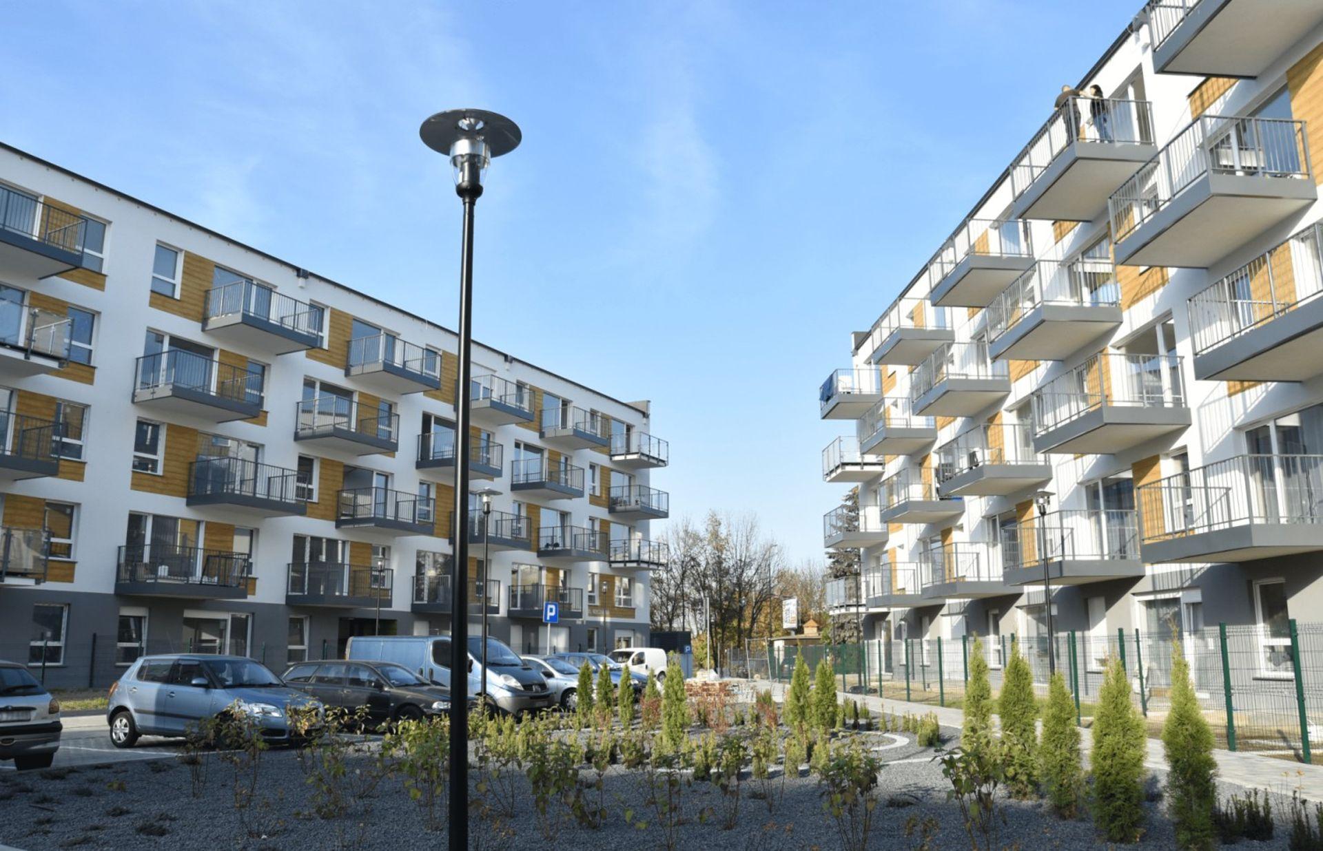 [Poznań] Trzy budynki osiedla Nowe Żegrze w Poznaniu gotowe
