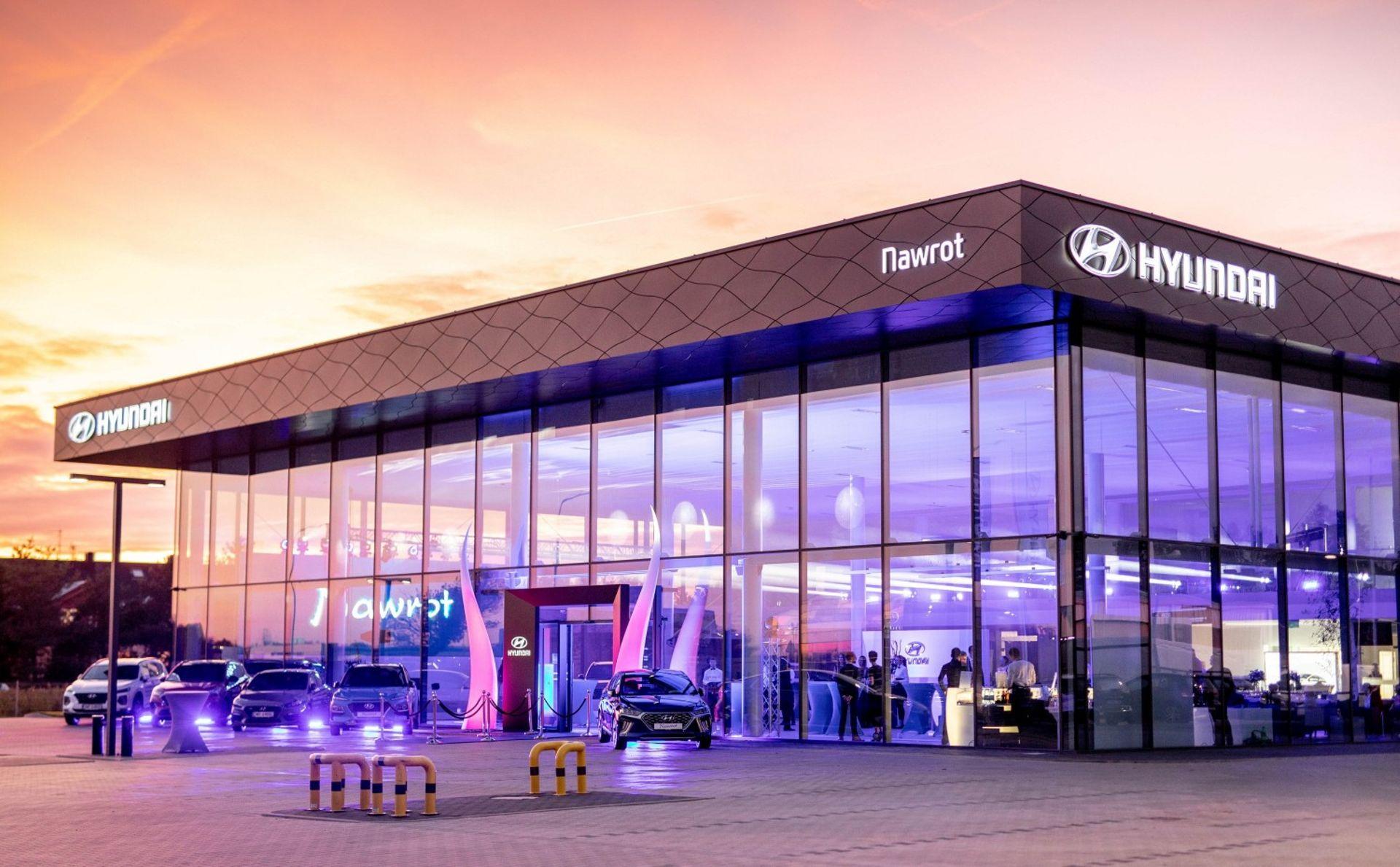 [Aglomeracja wrocławska] Największy w Europie salon Hyundai został otwarty w Długołęce
