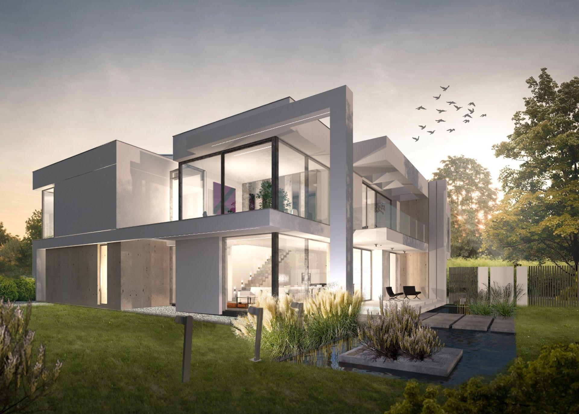 Warszawa: Hampton Residence Wilanów – kilkusetmetrowe domy na zamkniętym osiedlu od Green House Development