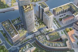 Cavatina rozpoczęła budowę 140-metrowej wieży w centrum Wrocławia [FILM + WIZUALIZACJE]
