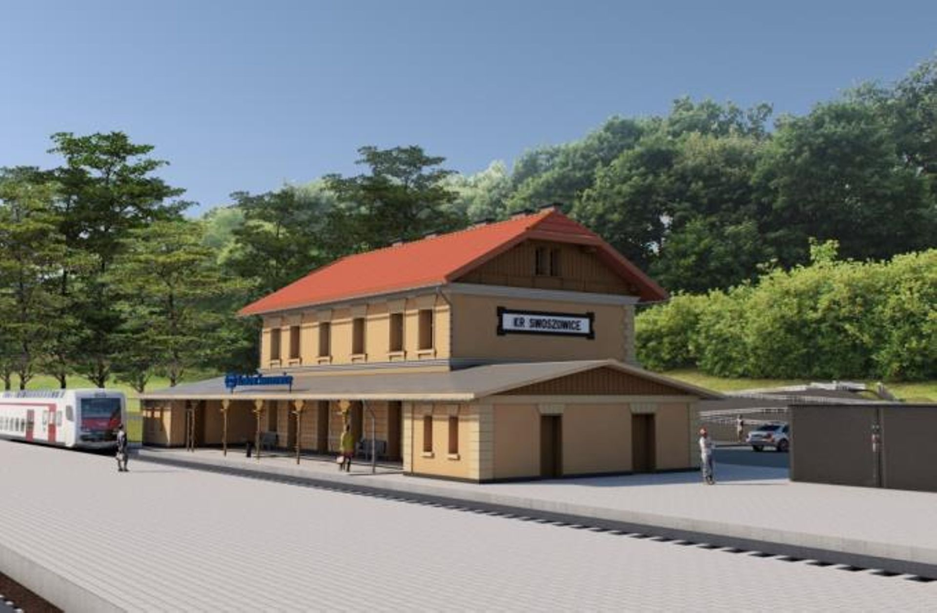 XIX-wieczny dworzec Kraków Swoszowice doczeka się remontu