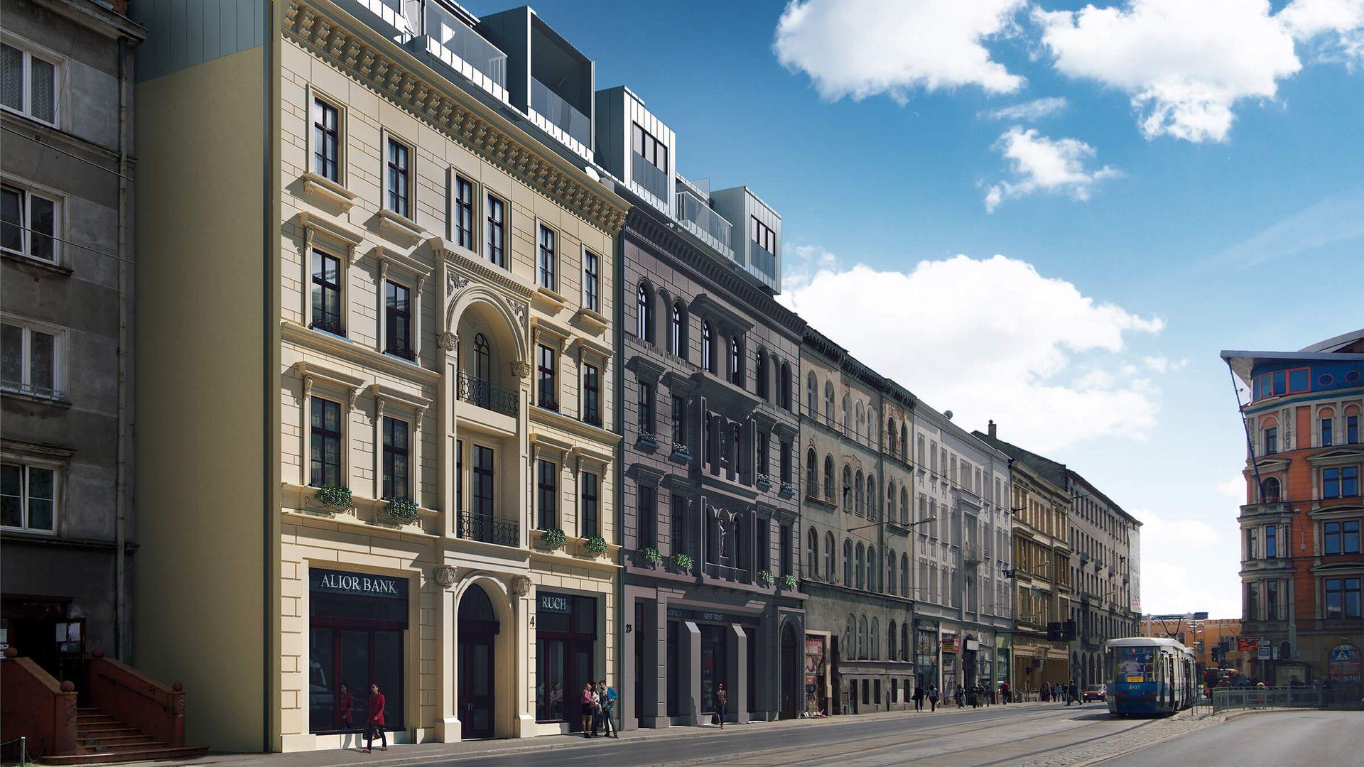 Wrocław: Kołłątaja 24 – Ashville Polska sprzedaje zabytkowe kamienice pod apartamenty