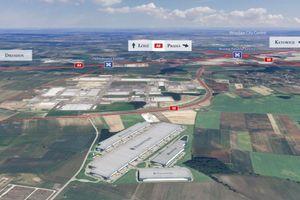 Rusza drugi etap realizacji wielkiej inwestycji Panattoni pod Wrocławiem [ZDJĘCIA]