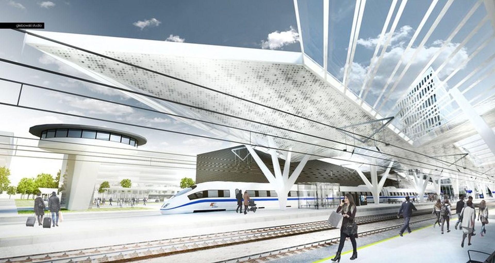 Budowa nowego dworca Warszawa Zachodnia wchodzi w kolejny etap