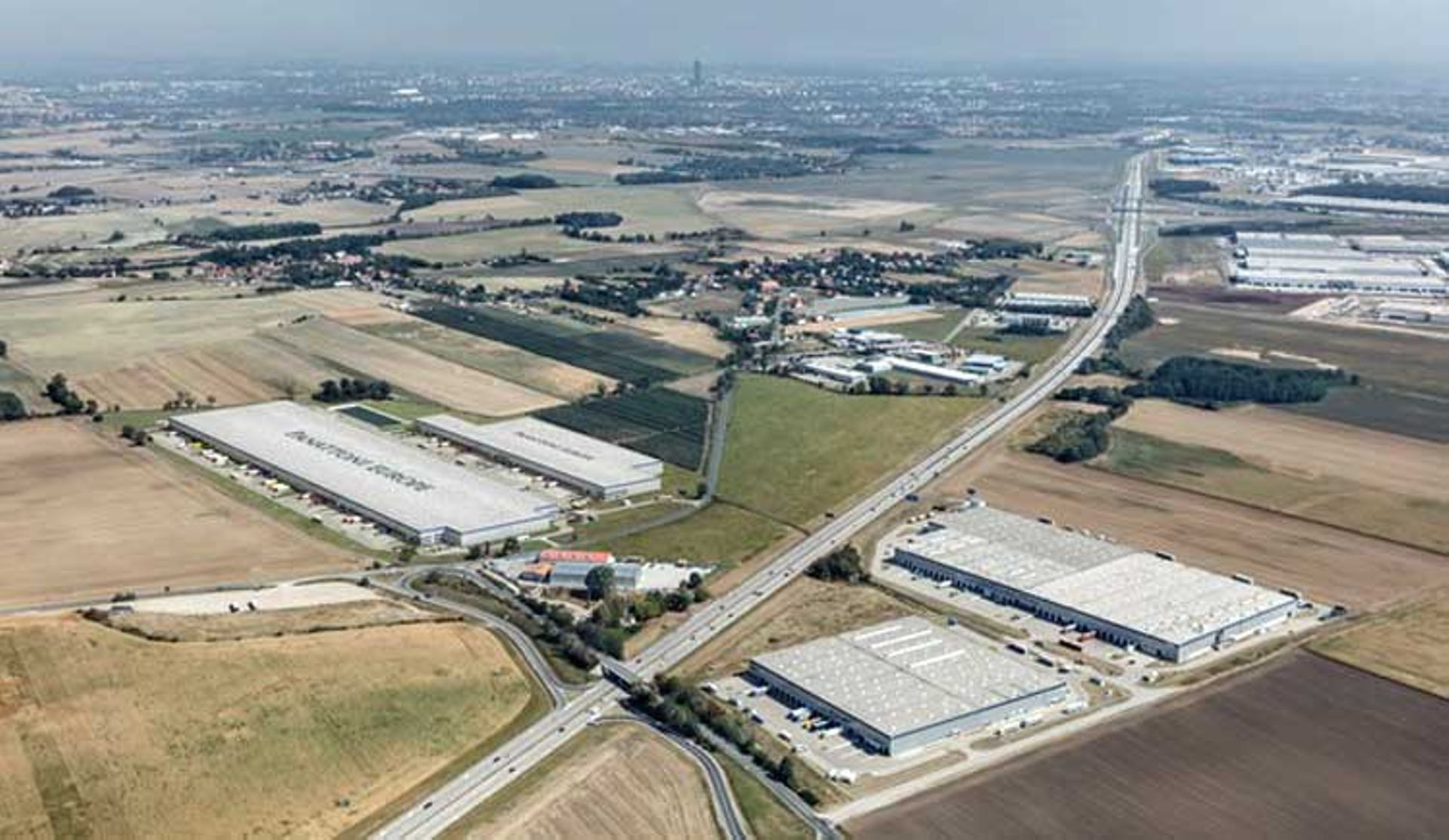 [Aglomeracja Wrocławska] Ruszyła budowa wielkiej inwestycji Panattoni Europe