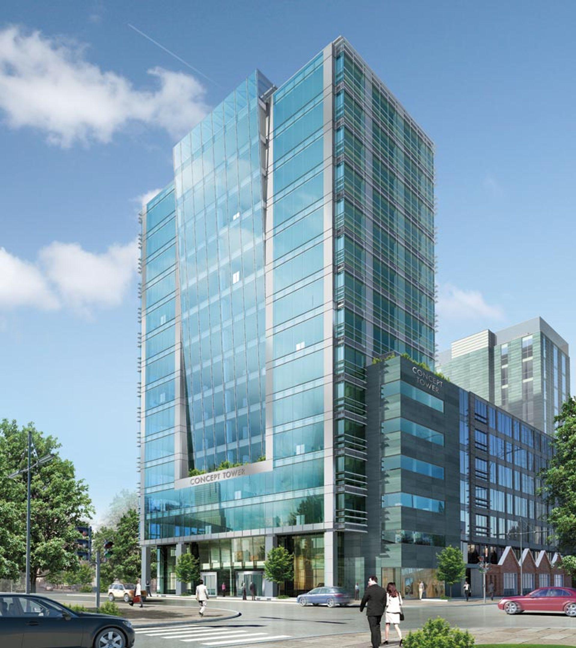 [Warszawa] Concept Tower pierwszym budynkiem biurowym w Polsce z podwójną certyfikacją LEED i BREEAM